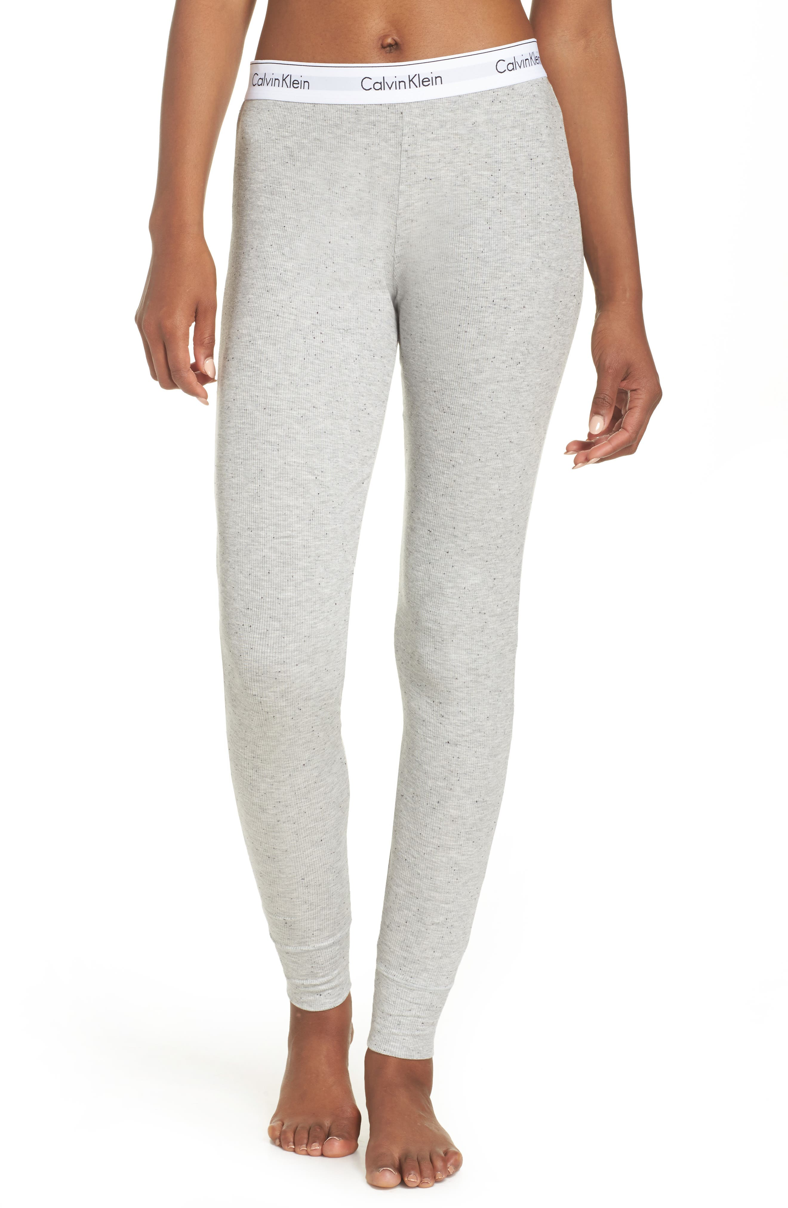 Lounge Leggings,                         Main,                         color, Graphic Rib Grey Heather