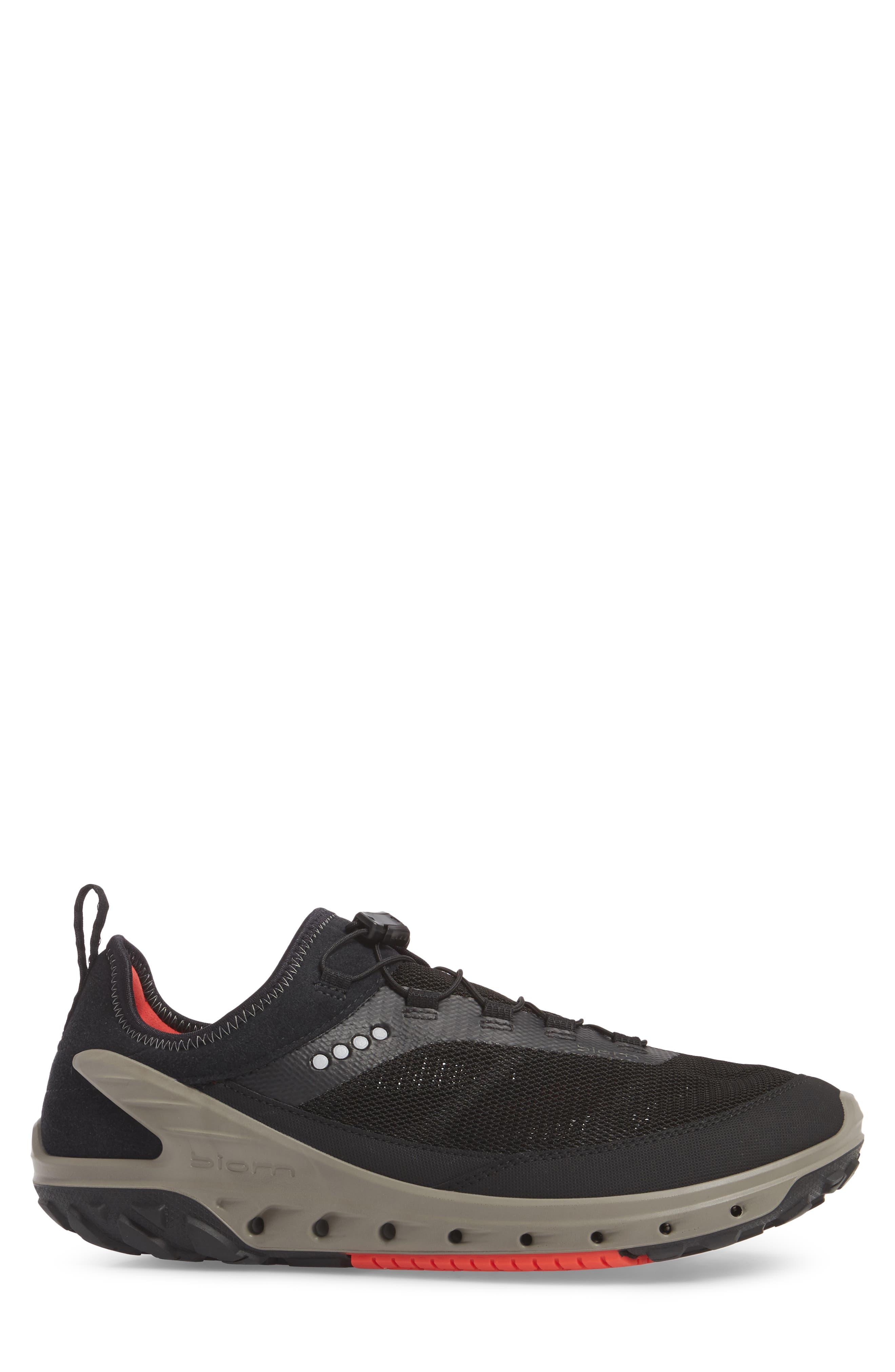 Biom Venture Sneaker,                             Alternate thumbnail 3, color,                             Black Leather