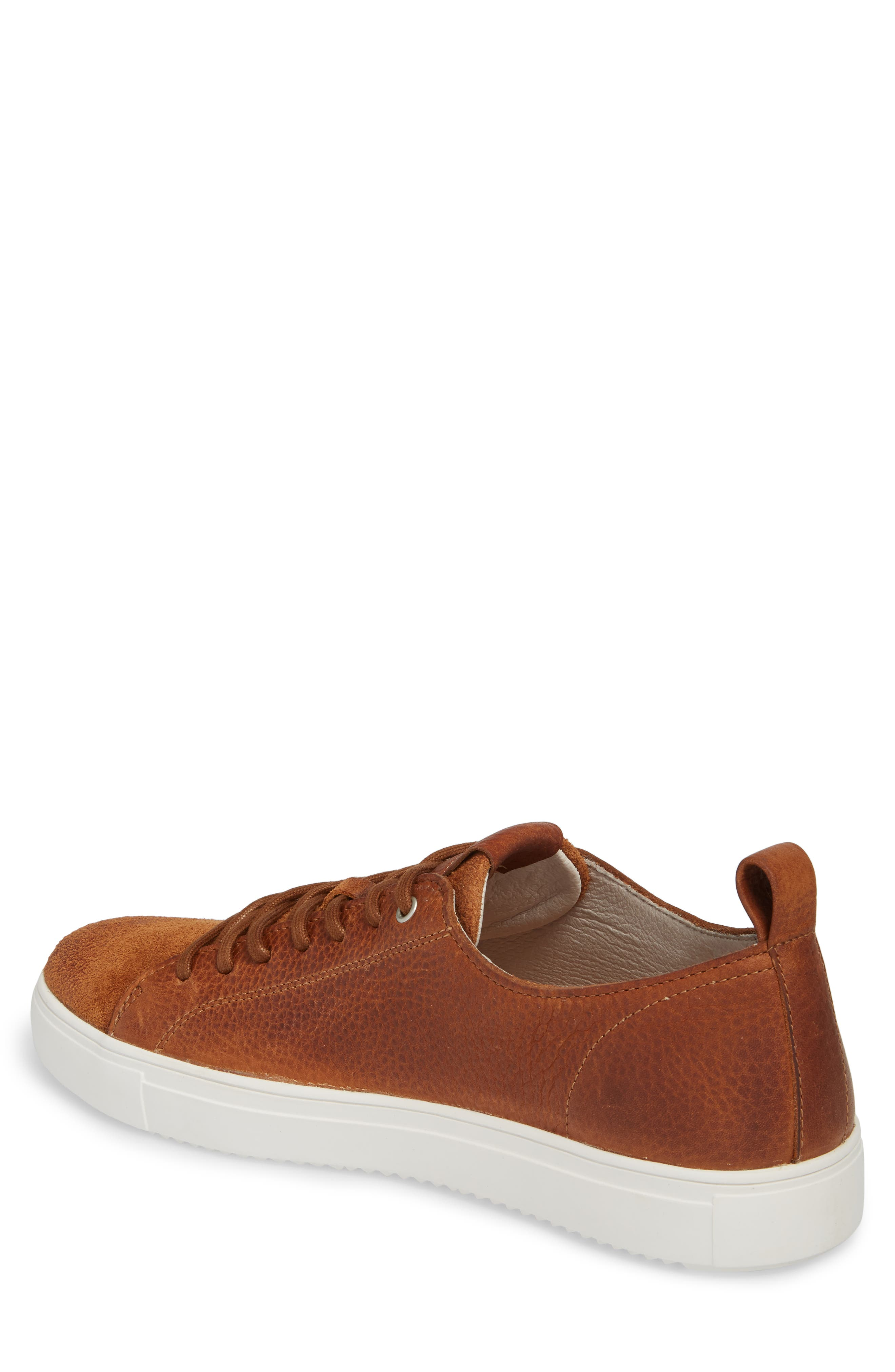 PM46 Low Top Sneaker,                             Alternate thumbnail 2, color,                             Cuoio Leather
