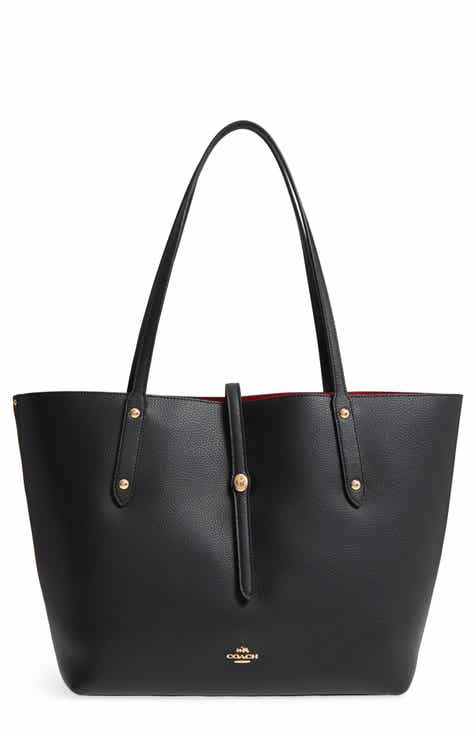 Coach Market Pebbled Leather Tote