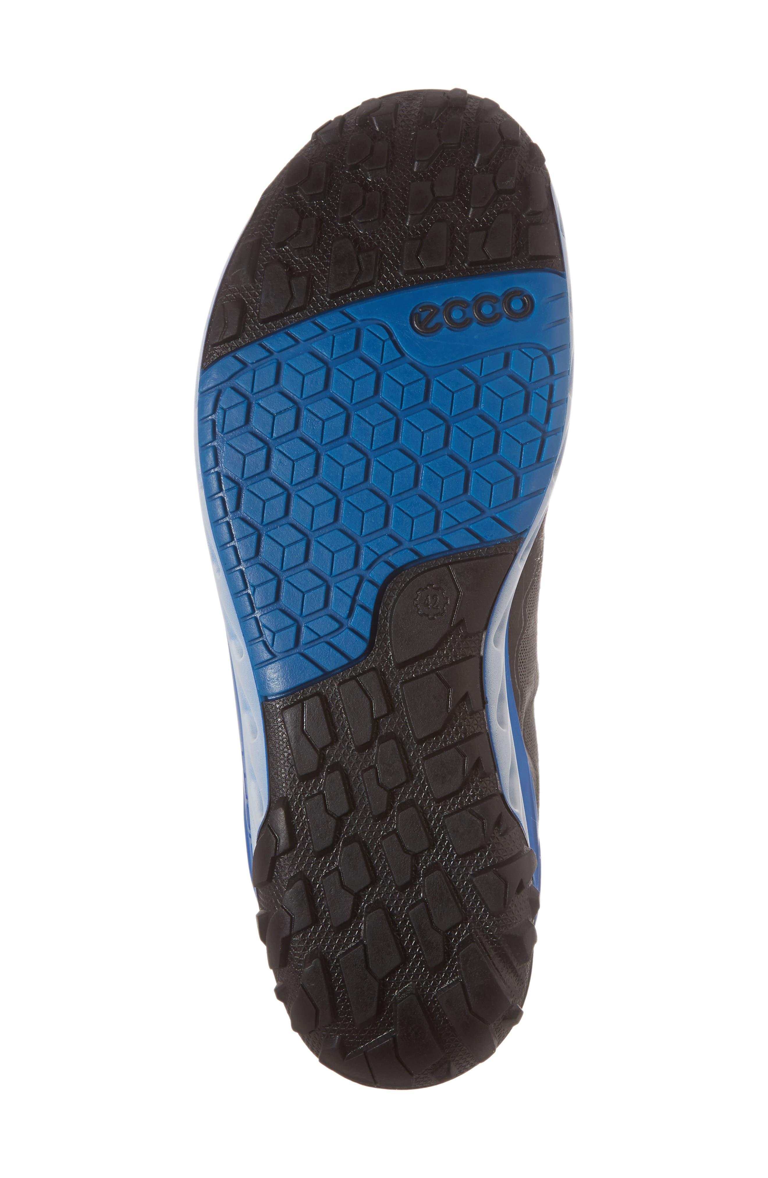 BIOM Venture GTX Sneaker,                             Alternate thumbnail 5, color,                             Black/ Titanium Leather