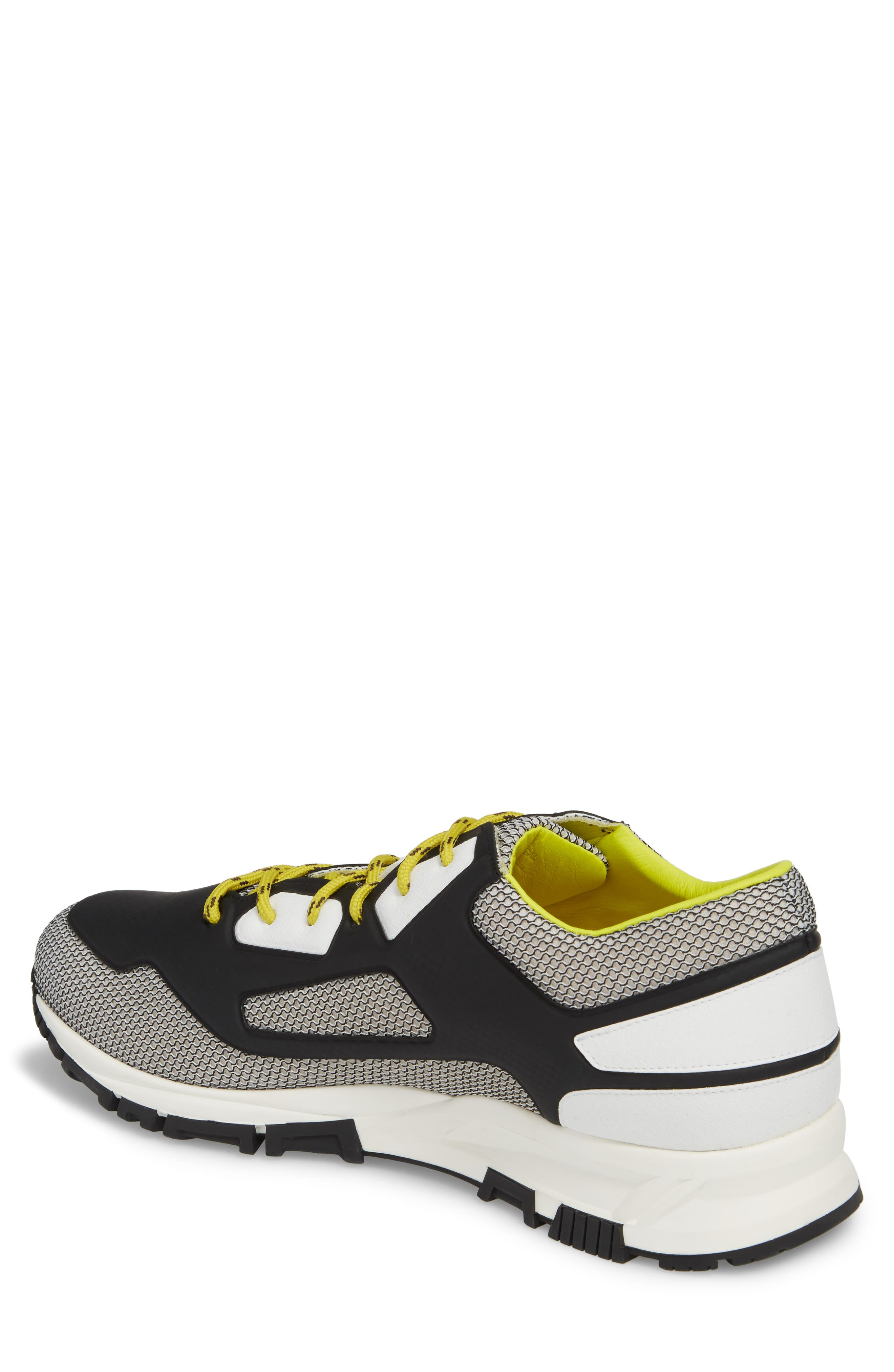 High Frequency Mesh Running Shoe,                             Alternate thumbnail 2, color,                             Grey