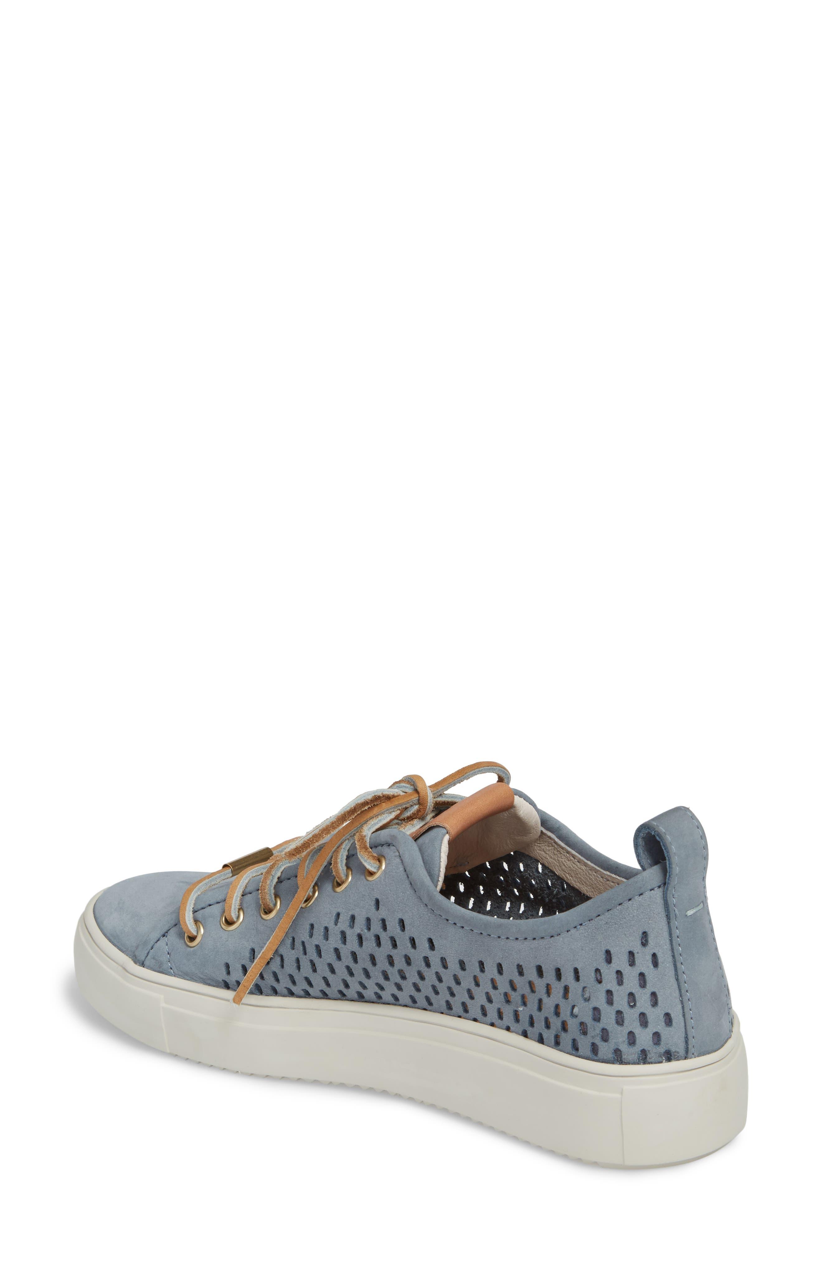 PL87 Sneaker,                             Alternate thumbnail 2, color,                             Winter Sky Leather