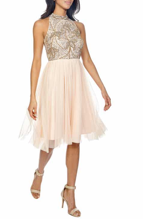Lace   Beads Simone Fit   Flare Dress 78dc4c14d