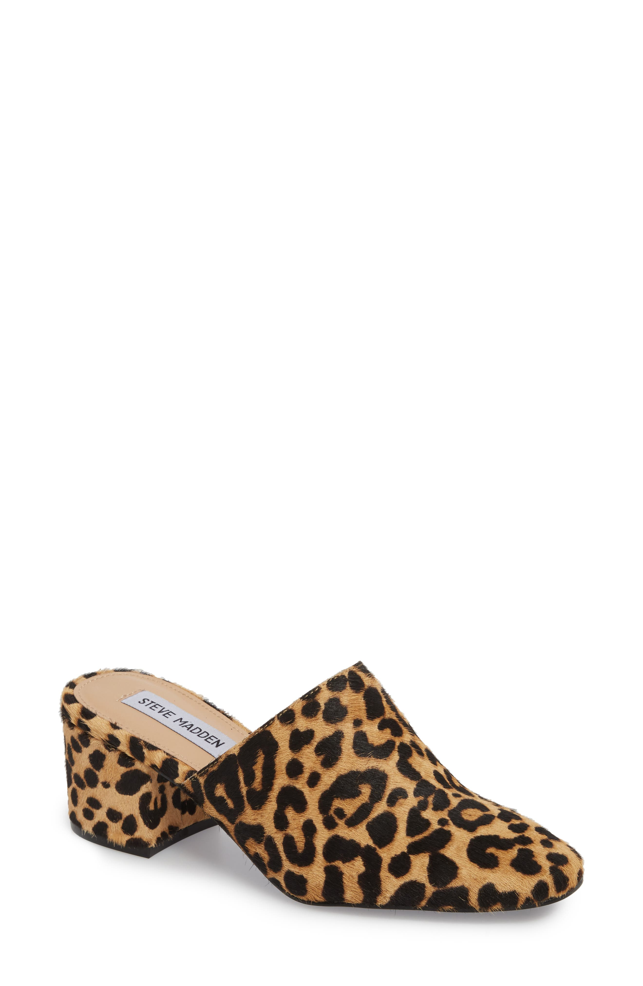 Notch Mule,                         Main,                         color, Leopard