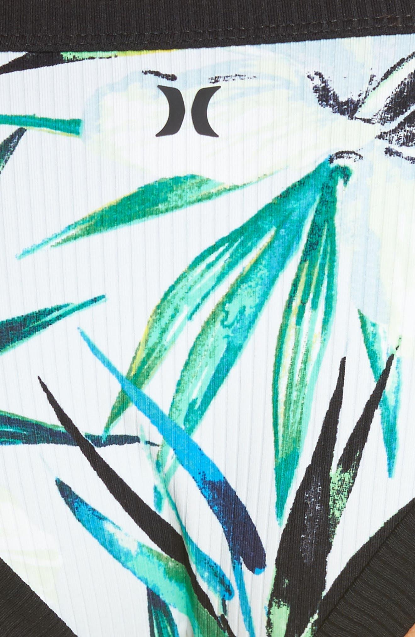 Garden Quick Dry Bikini Bottoms,                             Alternate thumbnail 8, color,                             Pure Platinum