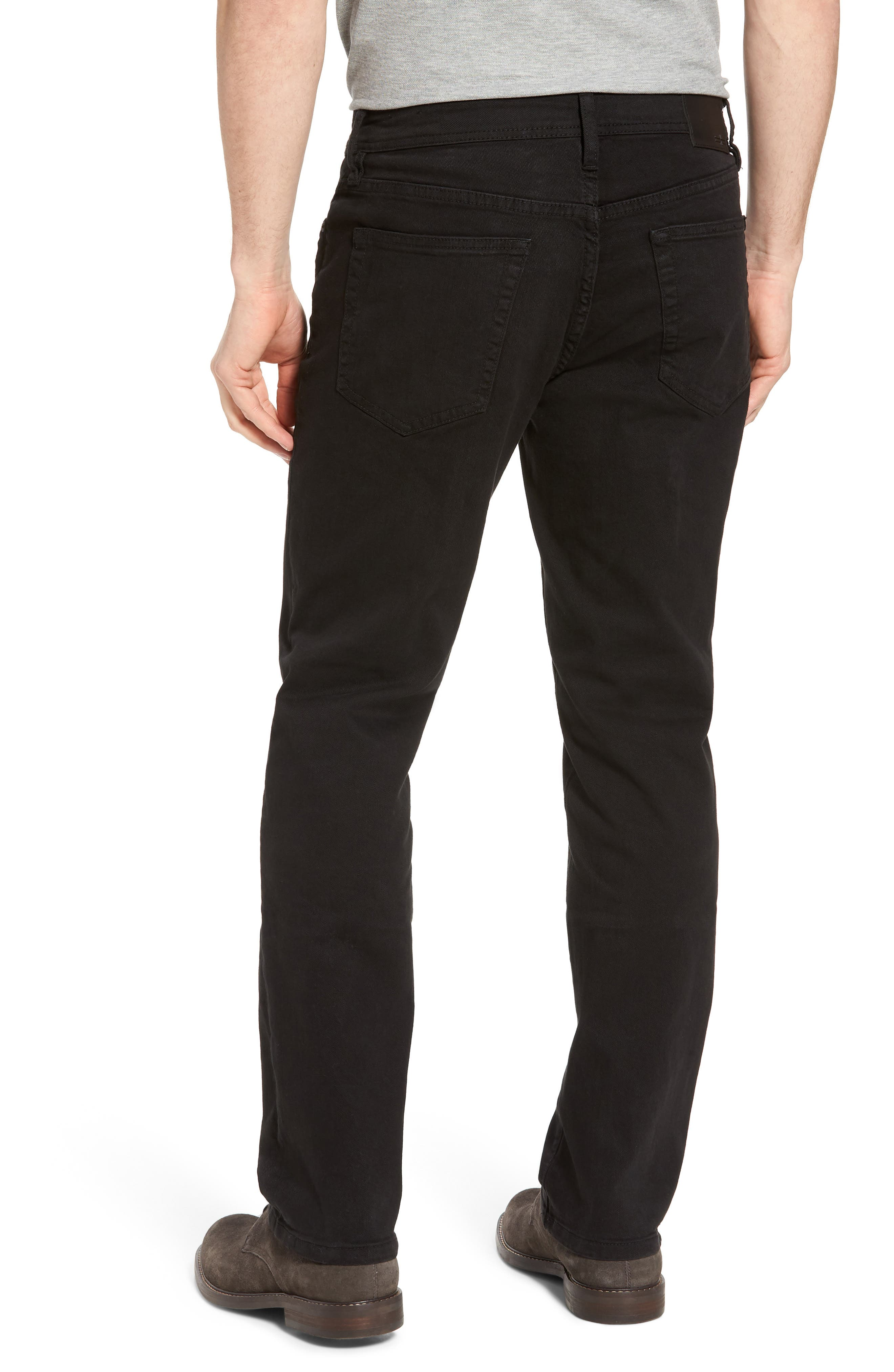 Jeans Co. Regent Relaxed Fit Jeans,                             Alternate thumbnail 2, color,                             Black Rinse