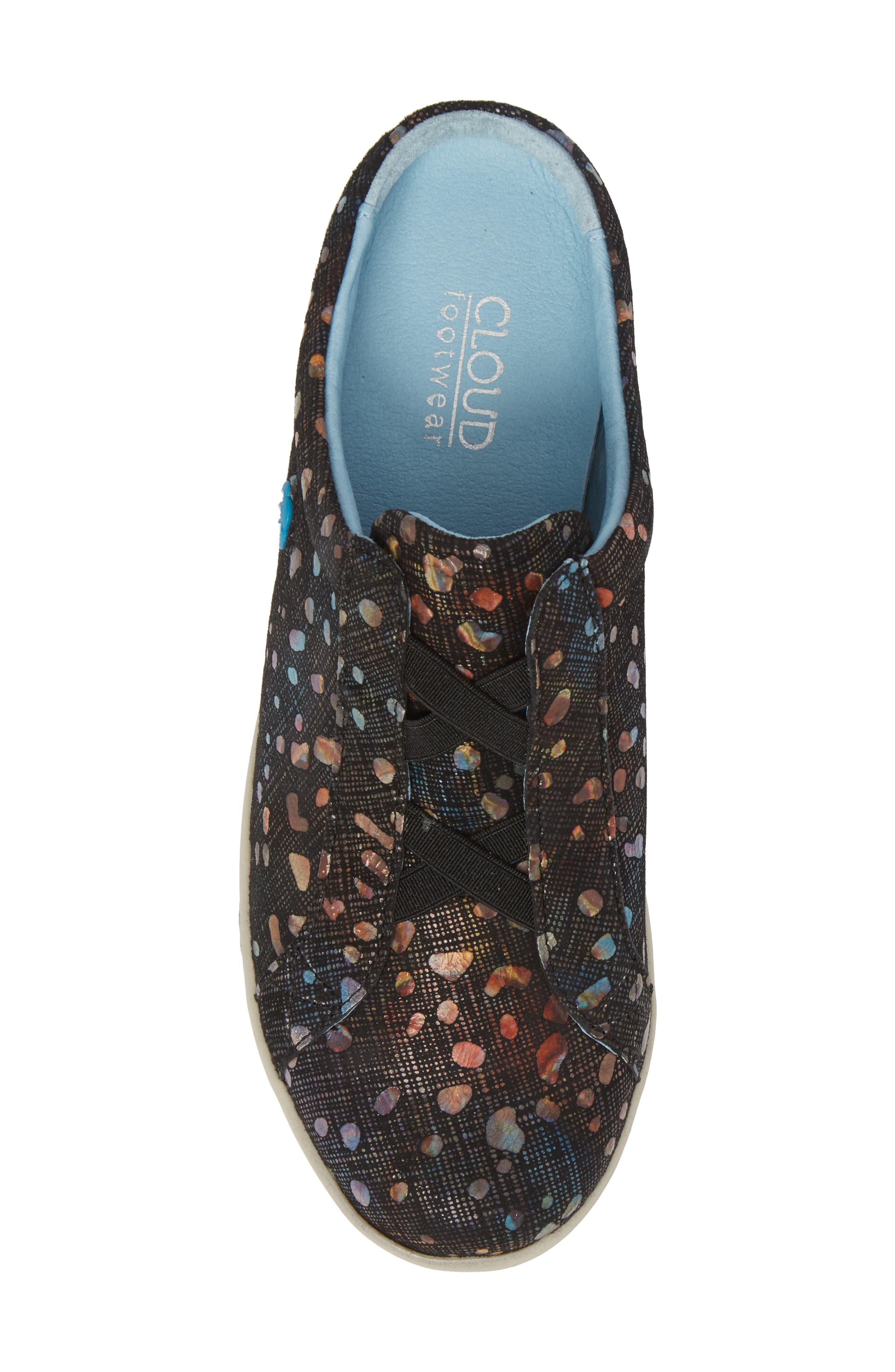 Arizona Fantasy Mule Sneaker,                             Alternate thumbnail 5, color,                             Bubble Leather