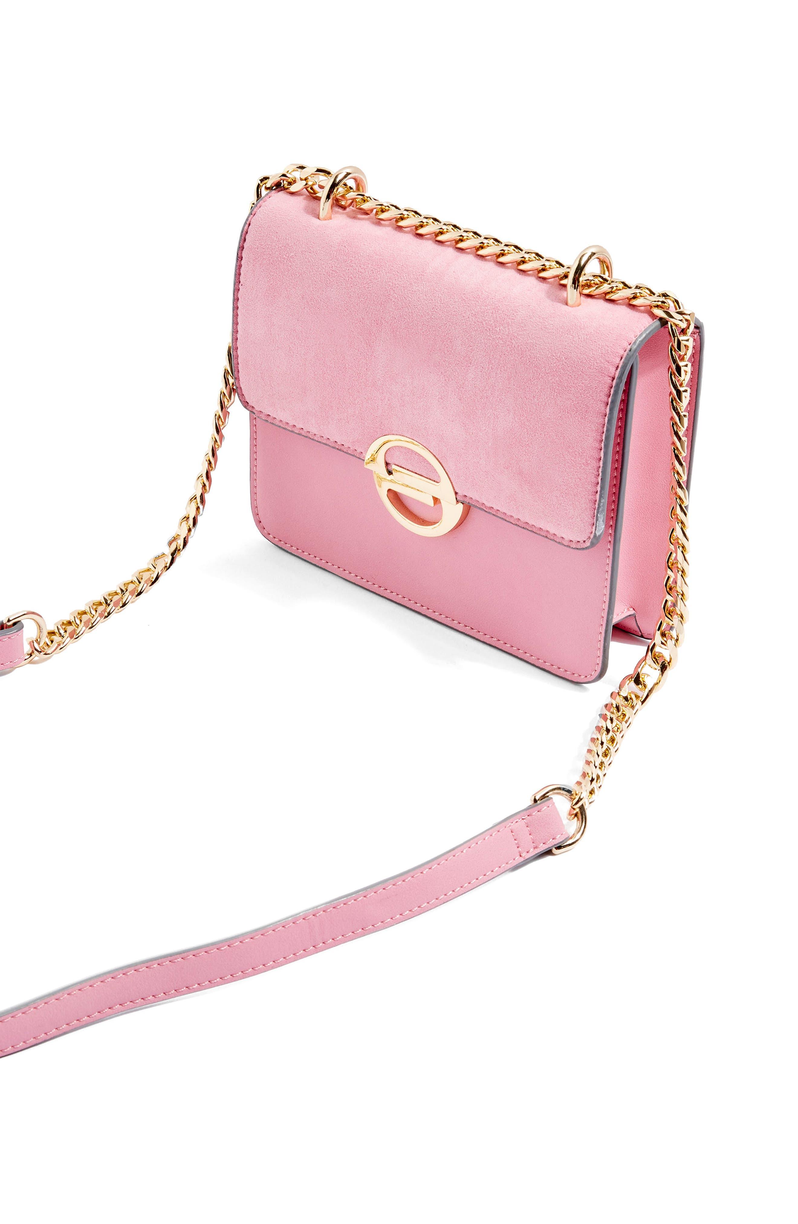 Clean Rae Crossbody Bag,                             Alternate thumbnail 3, color,                             Pink