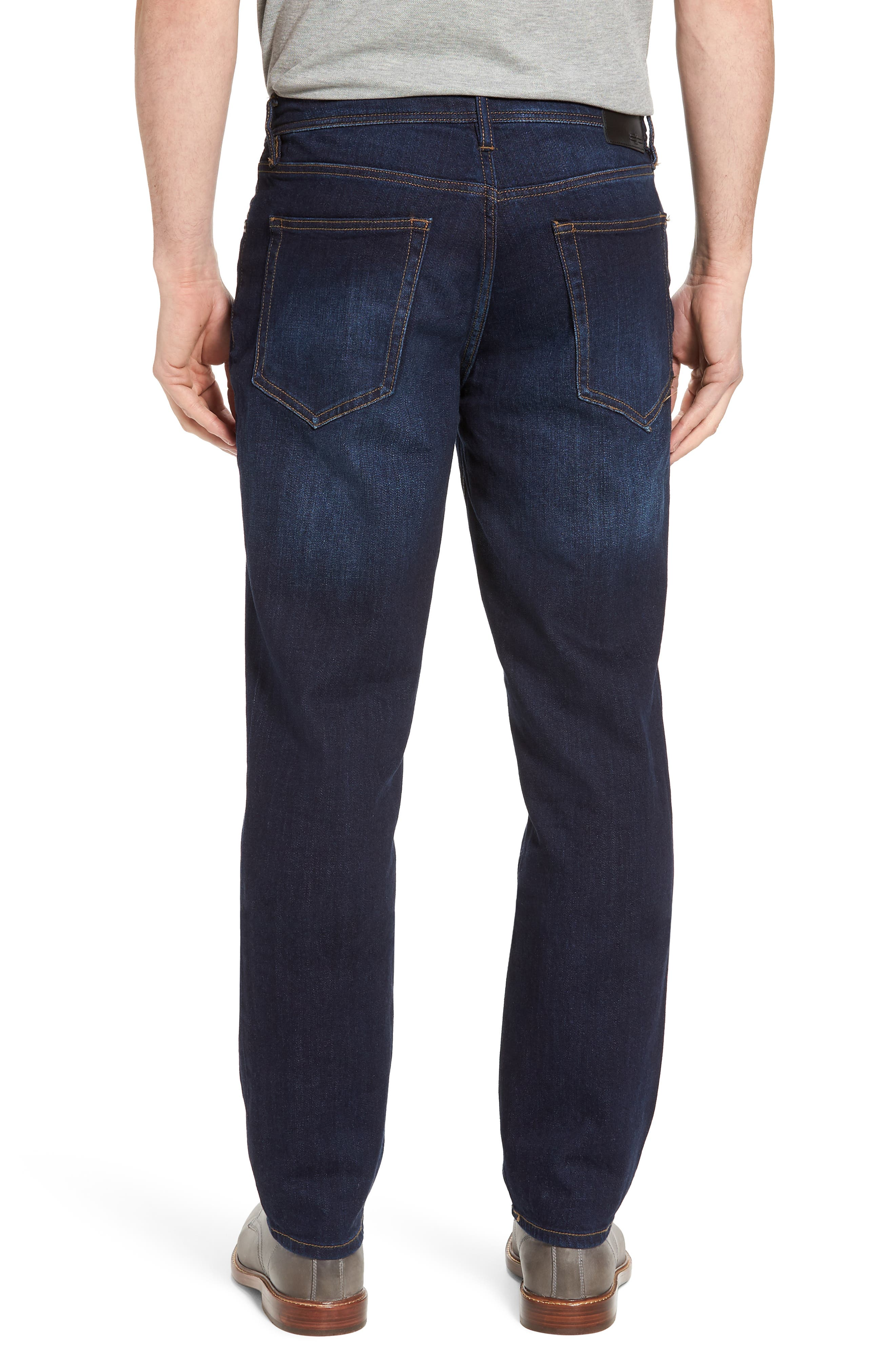 Jeans Co. Regent Relaxed Fit Jeans,                             Alternate thumbnail 2, color,                             San Ardo Vintage Dark
