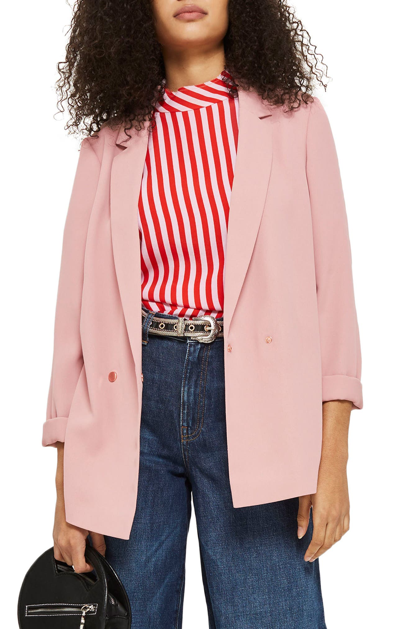 Topshop Ava Double Breasted Jacket