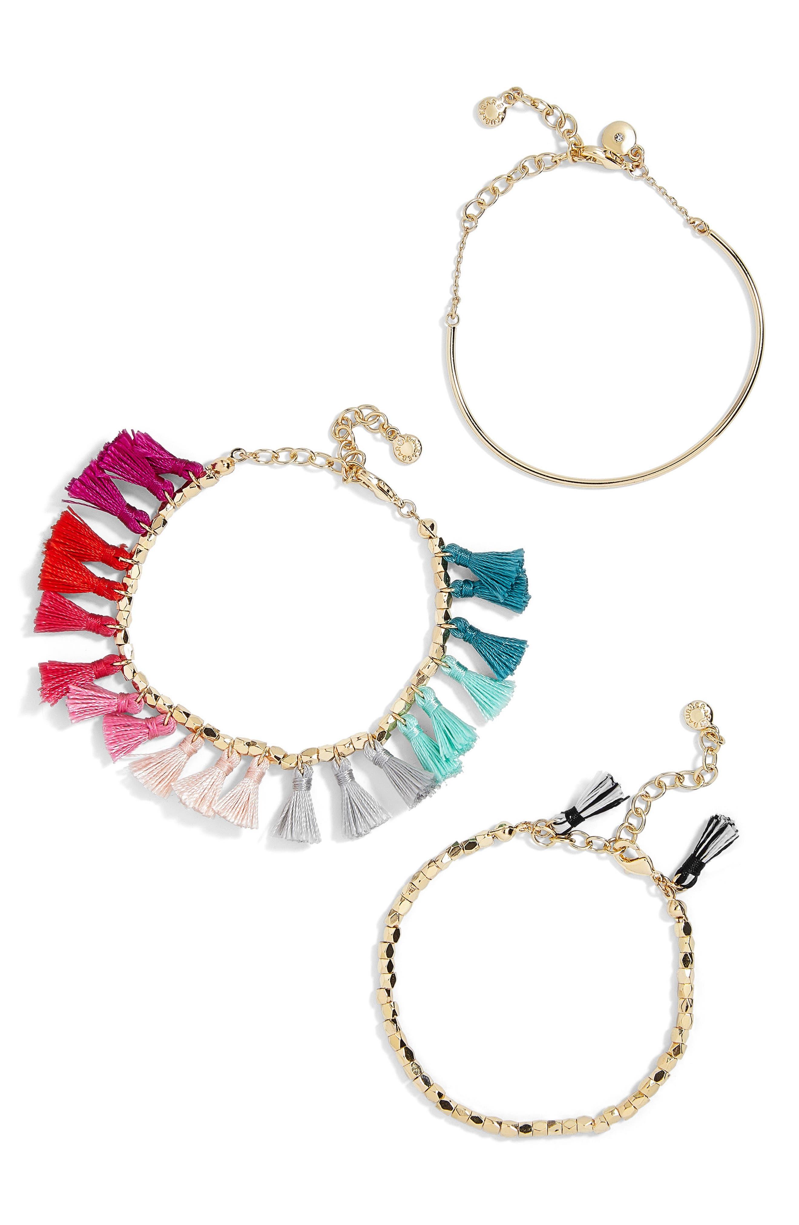 Dionne 3-Pack Bracelets,                         Main,                         color, Multi