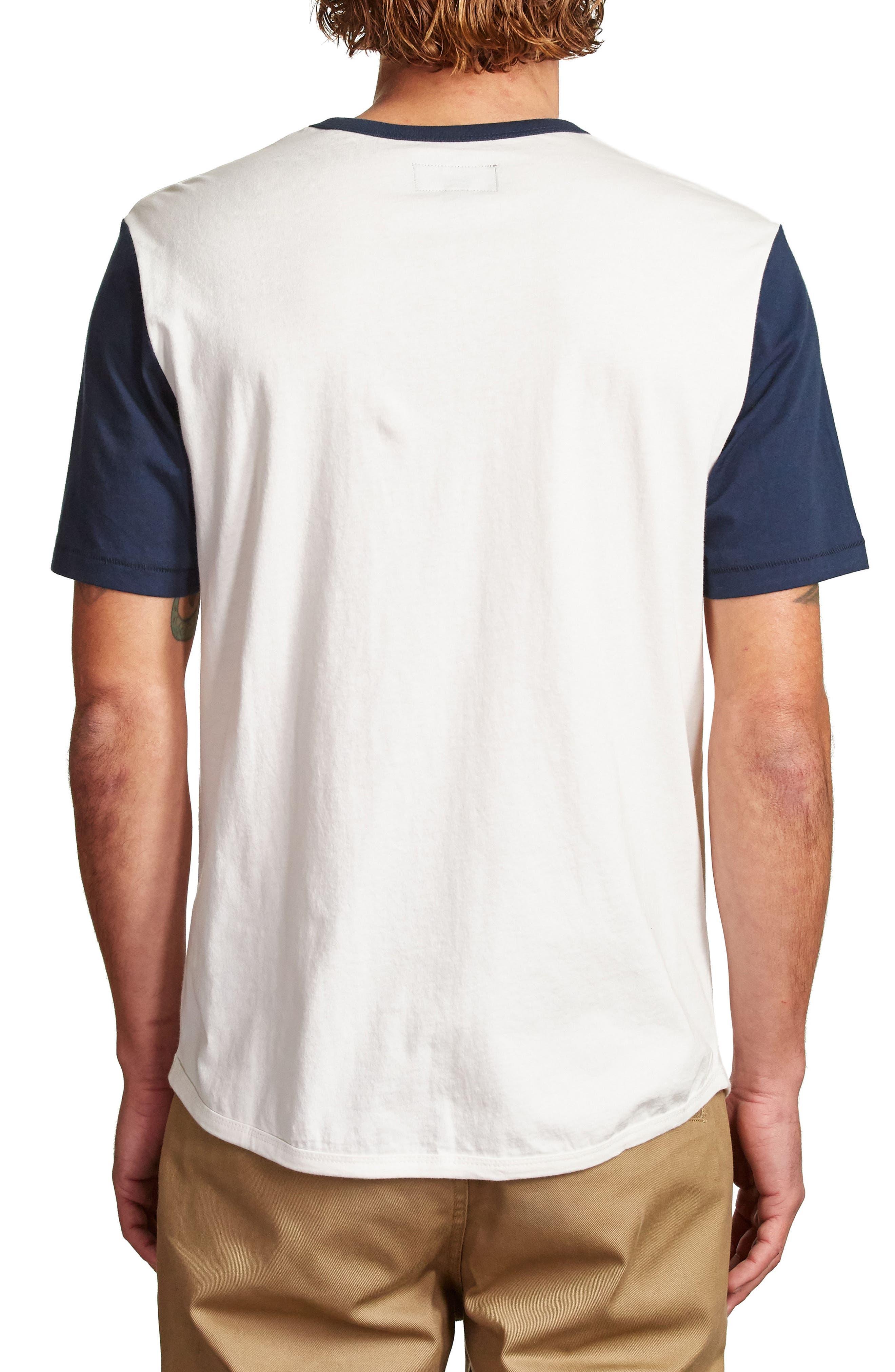 Novato T-Shirt,                             Alternate thumbnail 2, color,                             Off White/ Navy
