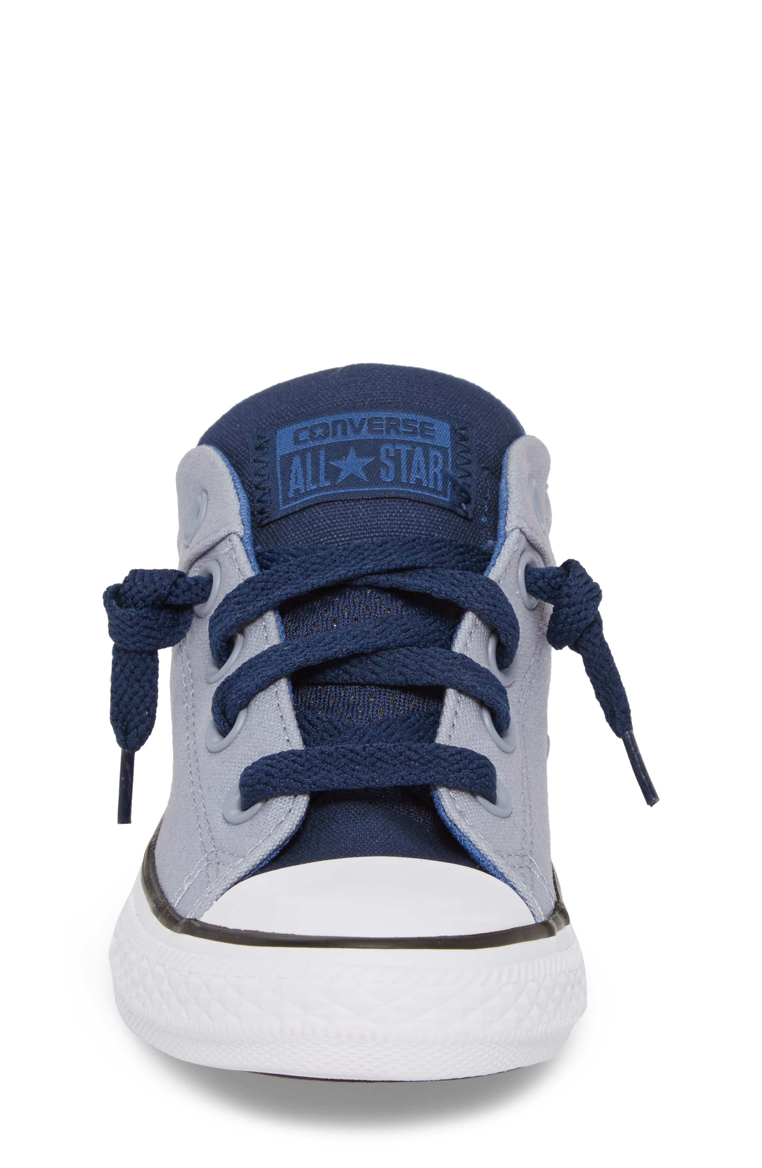 Chuck Taylor<sup>®</sup> All Star<sup>®</sup> 'High Street' Slip-On Sneaker,                             Alternate thumbnail 4, color,                             Glacier Grey