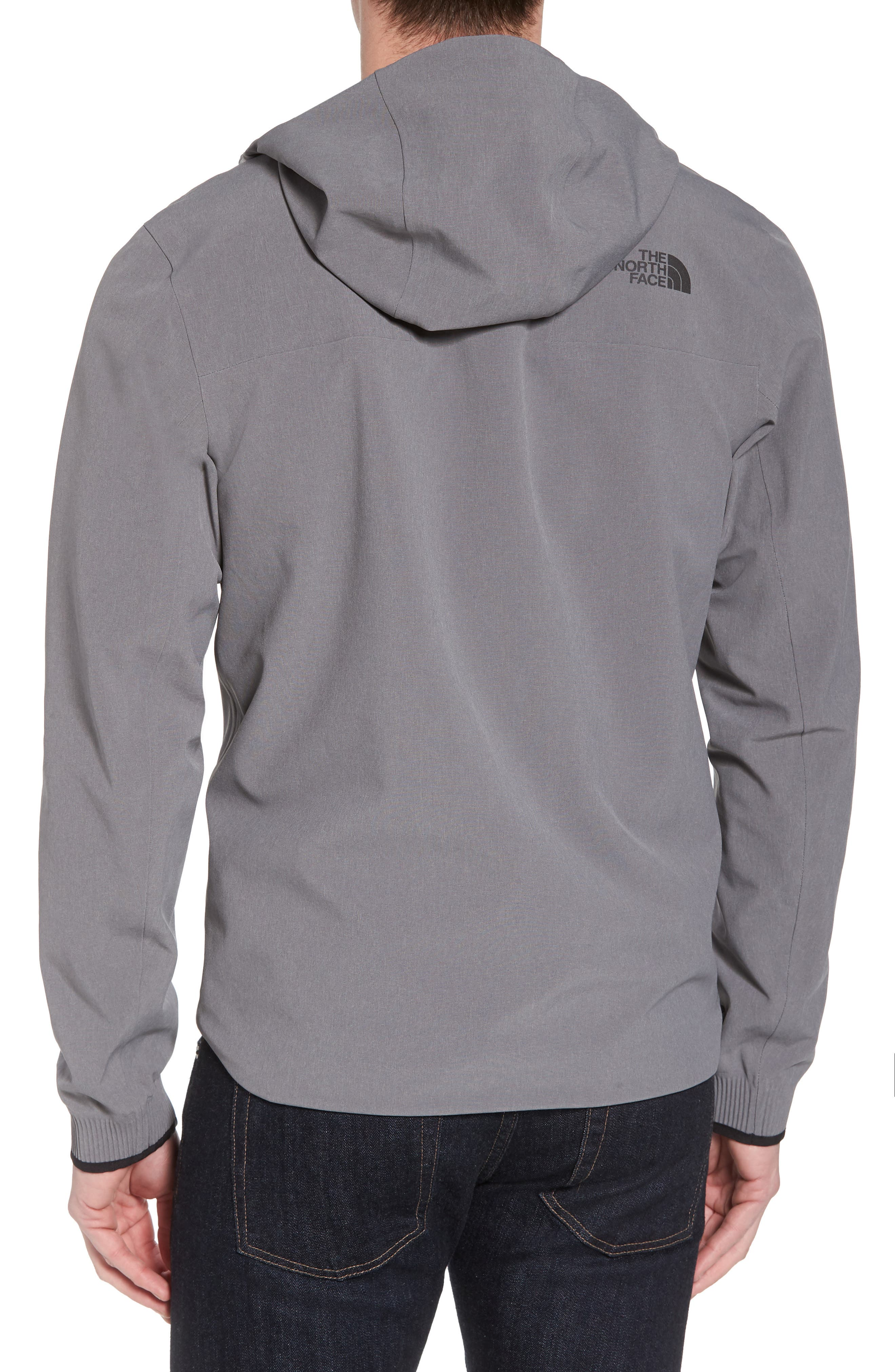 Apex Flex Gore-Tex<sup>®</sup> Waterproof Jacket,                             Alternate thumbnail 2, color,                             Medium Grey Heather