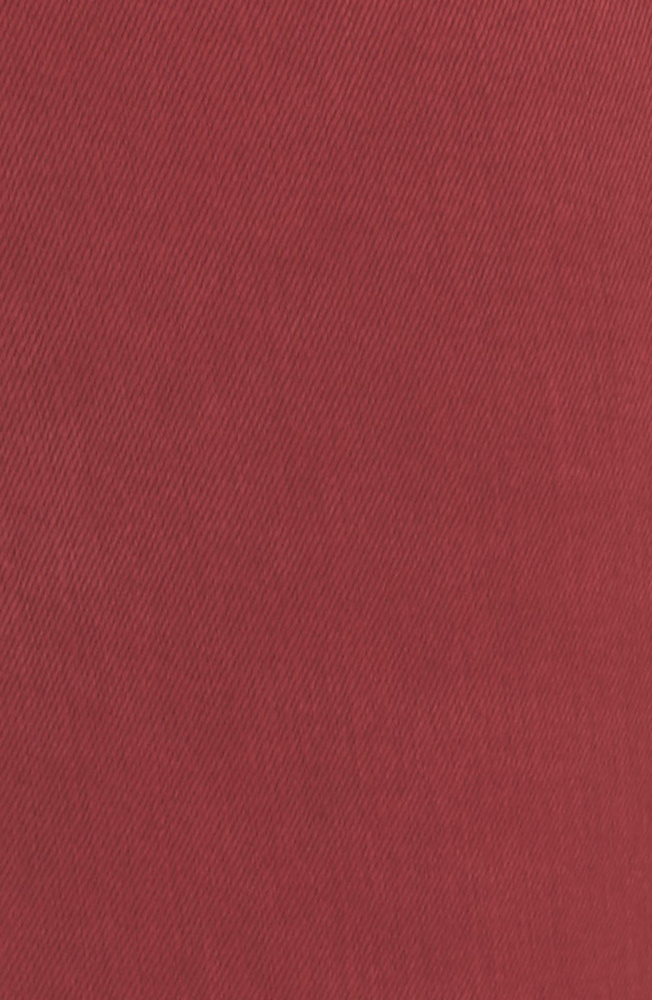 Abby Skinny Jeans,                             Alternate thumbnail 7, color,                             Biking Red