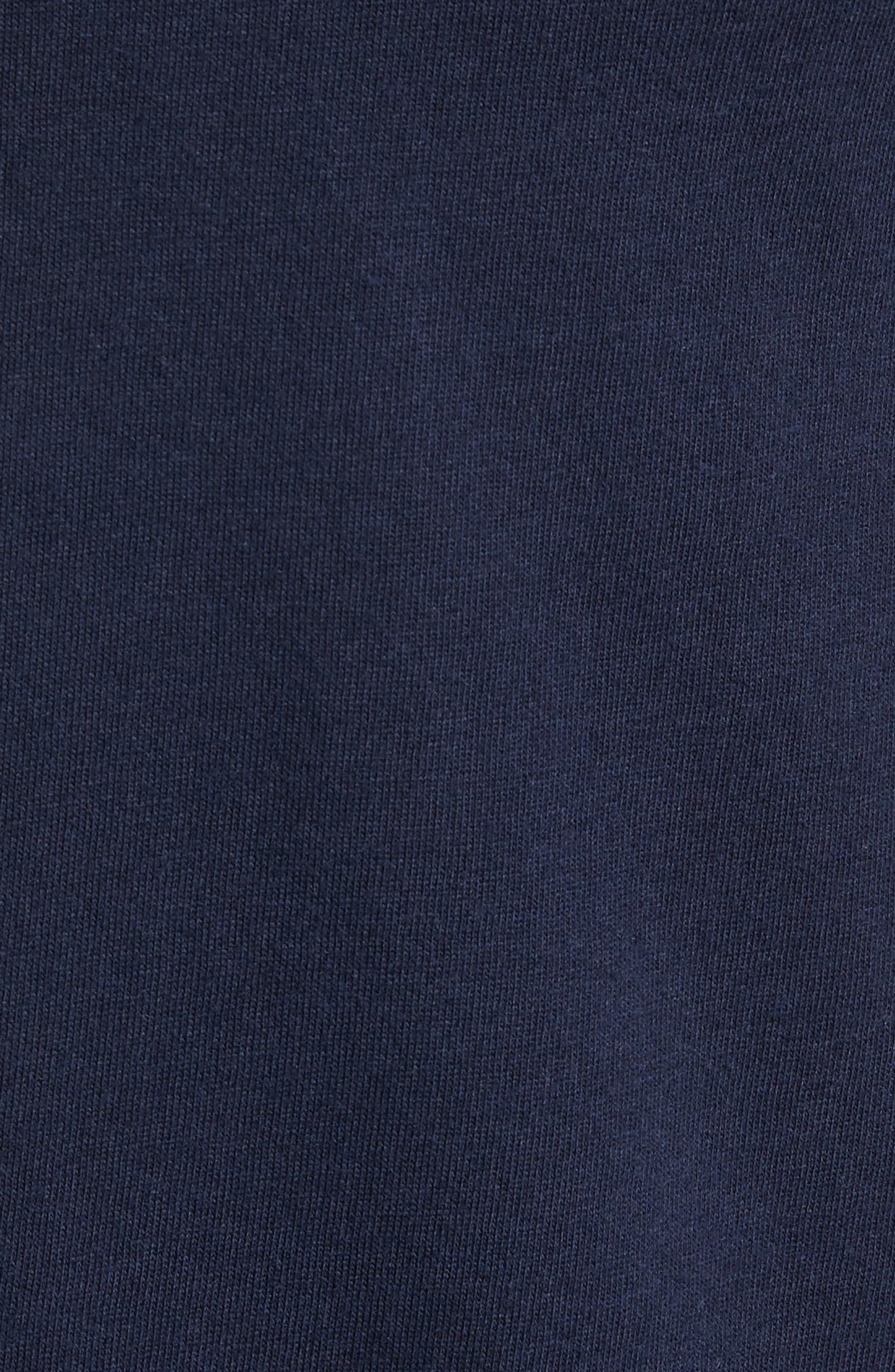 Elliott Henley T-Shirt,                             Alternate thumbnail 5, color,                             Deep Navy