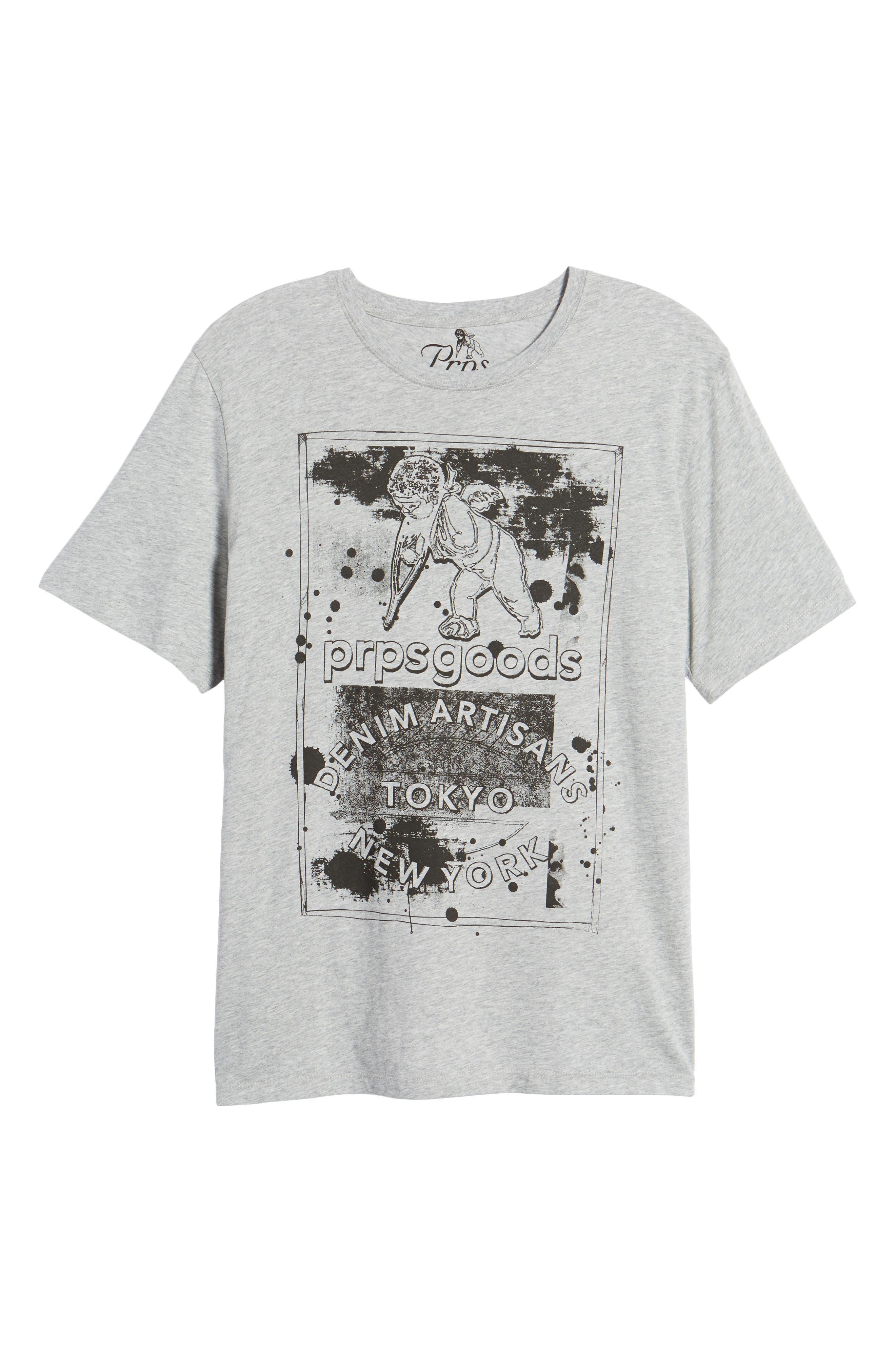 Logo Graphic T-Shirt,                             Alternate thumbnail 6, color,                             Grey