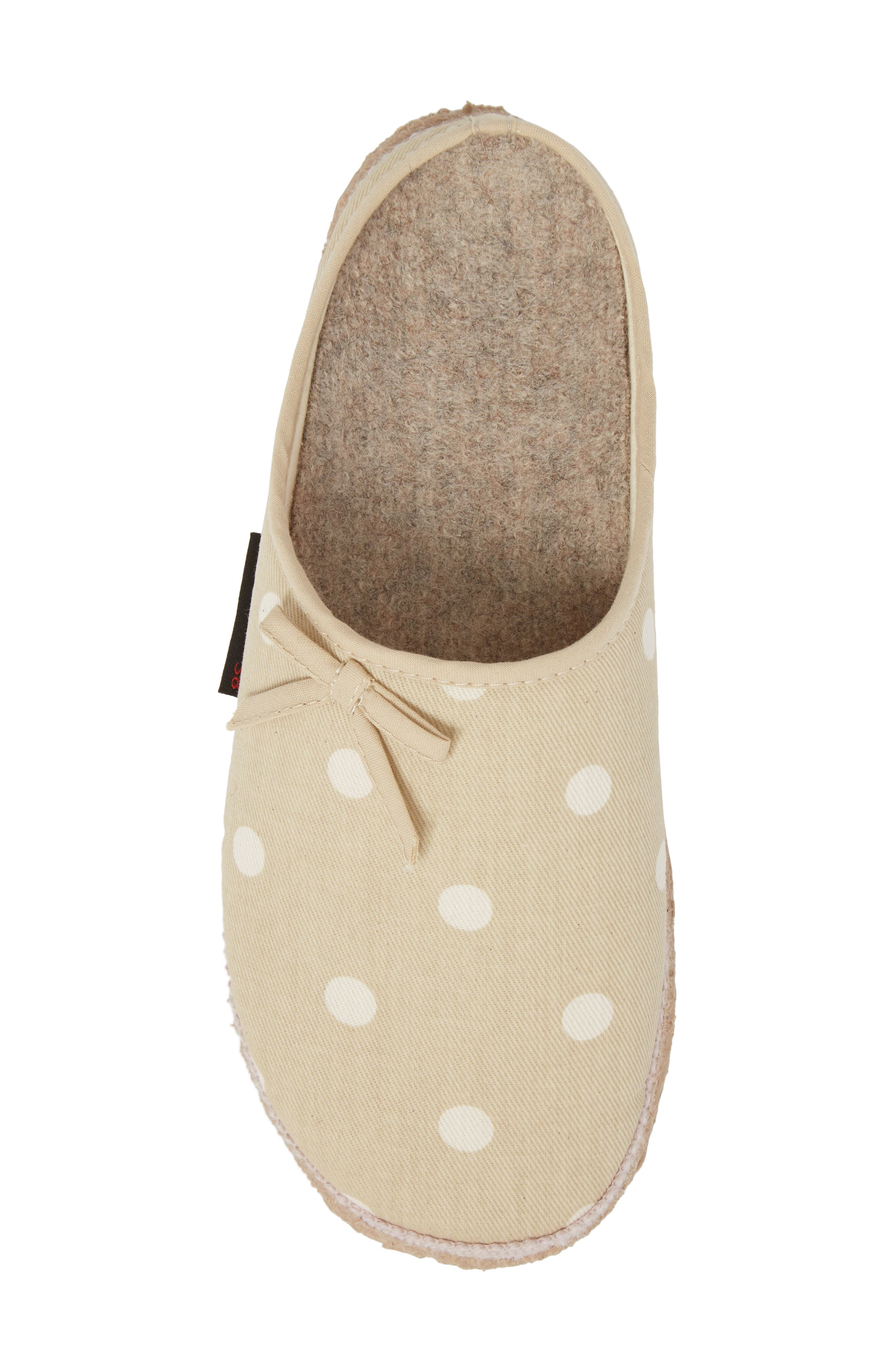 Meadow Slipper,                             Alternate thumbnail 5, color,                             Natural Fabric