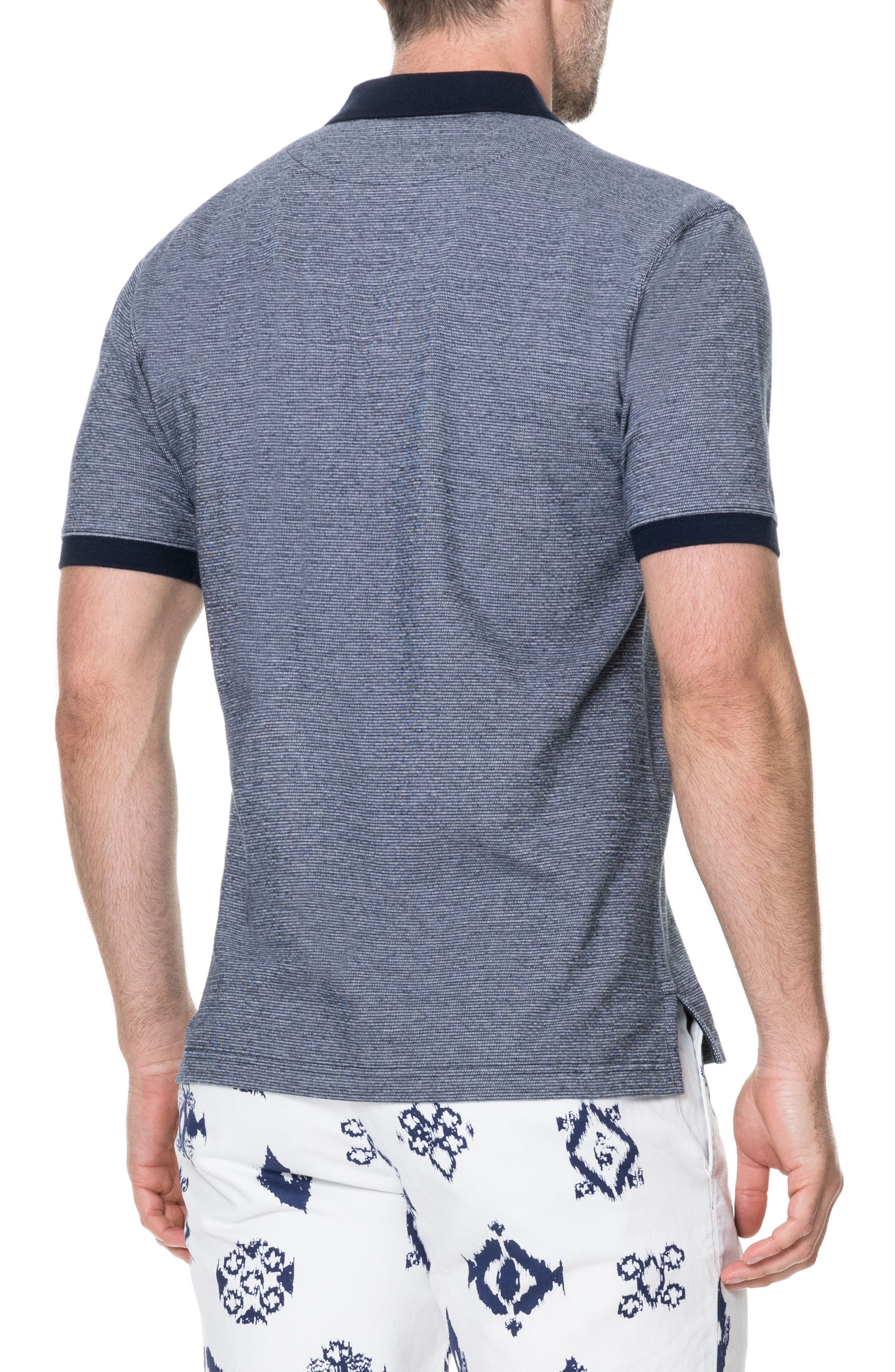 Sedgebrook Regular Fit Polo,                             Alternate thumbnail 2, color,                             Navy