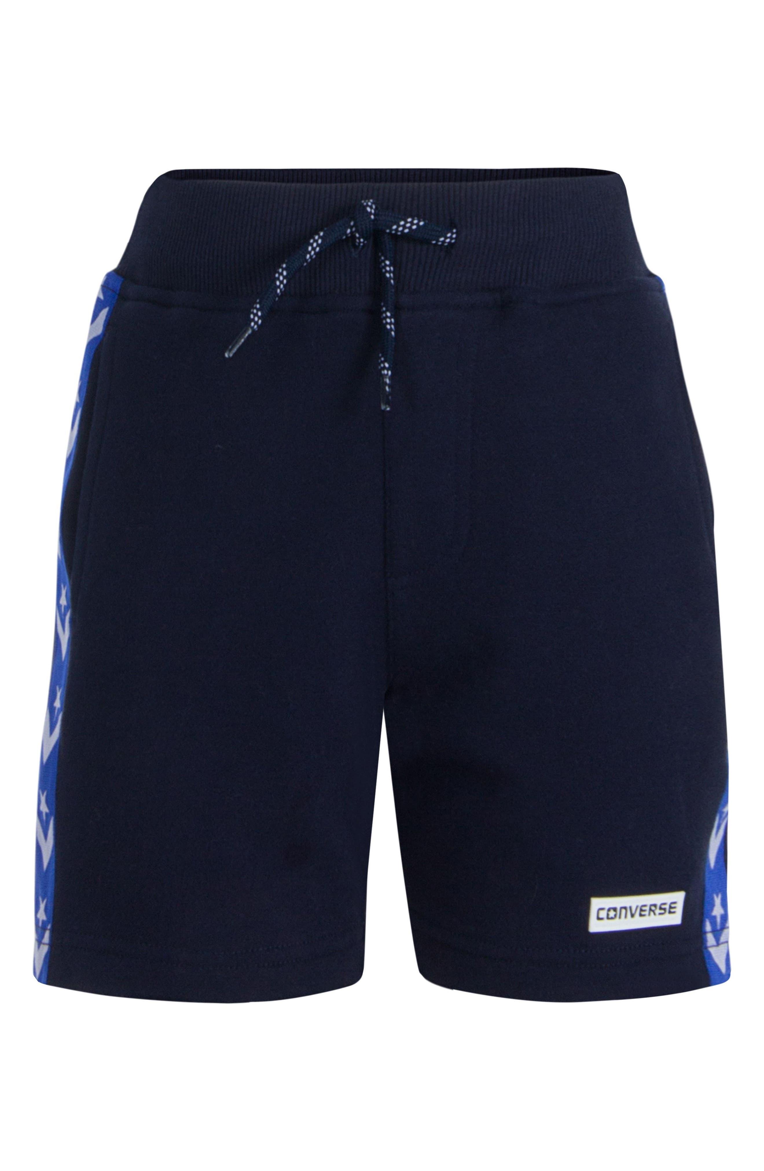 Star Knit Shorts,                         Main,                         color, Obsidian