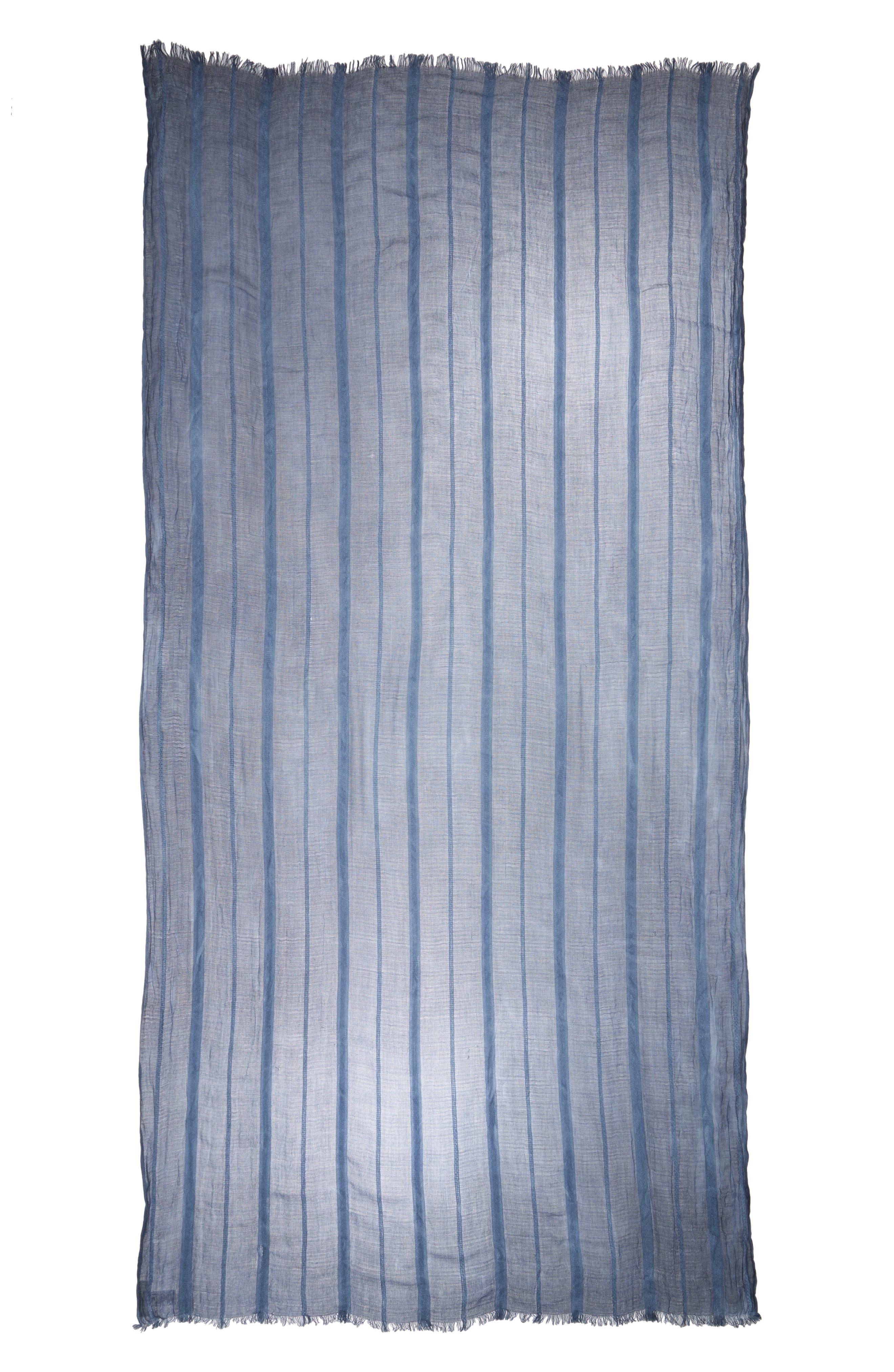 Stripe Textured Wrap,                             Alternate thumbnail 2, color,                             Blue Stonewash