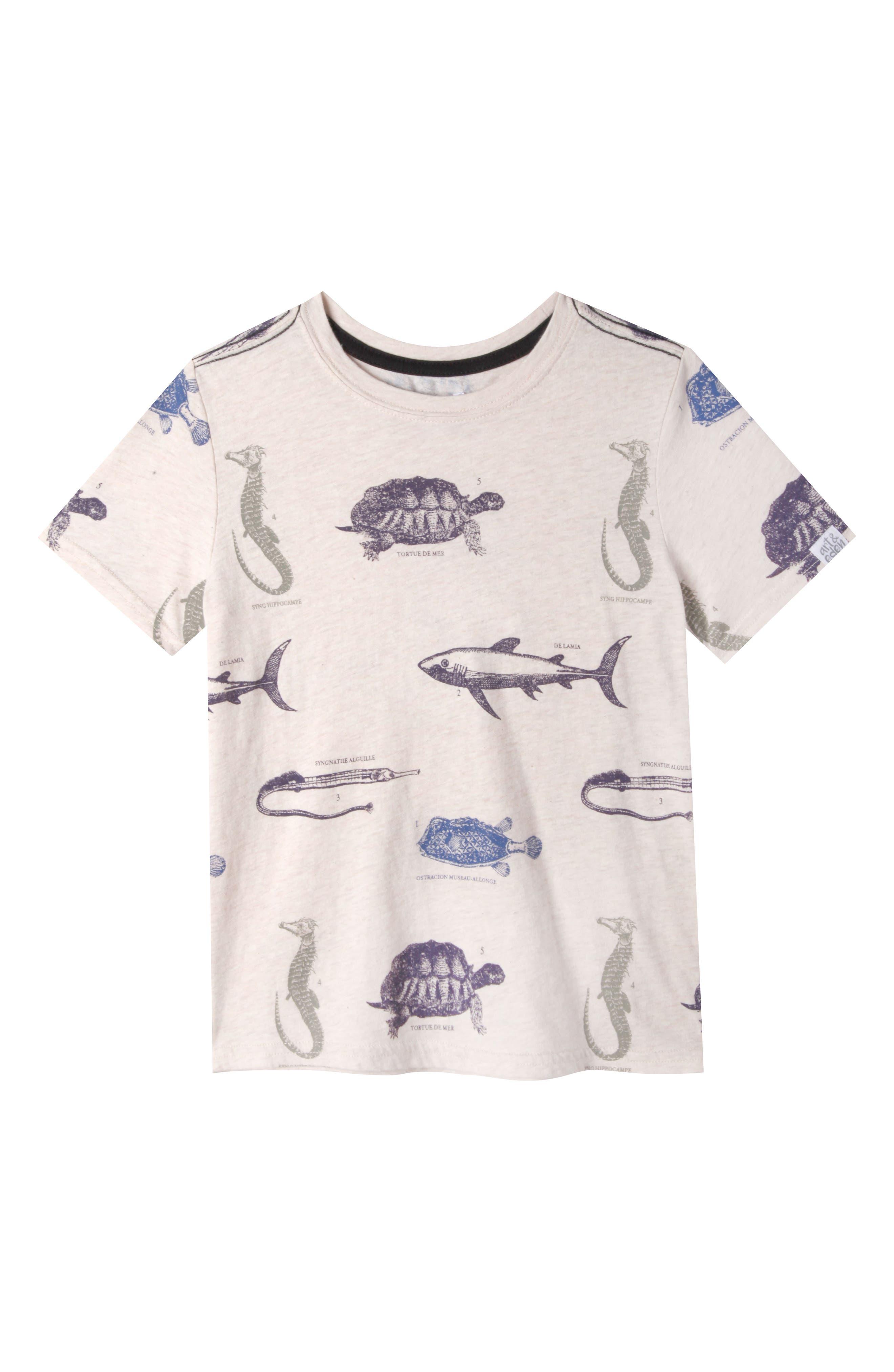 Art & Eden Gabriel Organic Cotton T-Shirt (Toddler Boys, Little Boys & Big Boys)