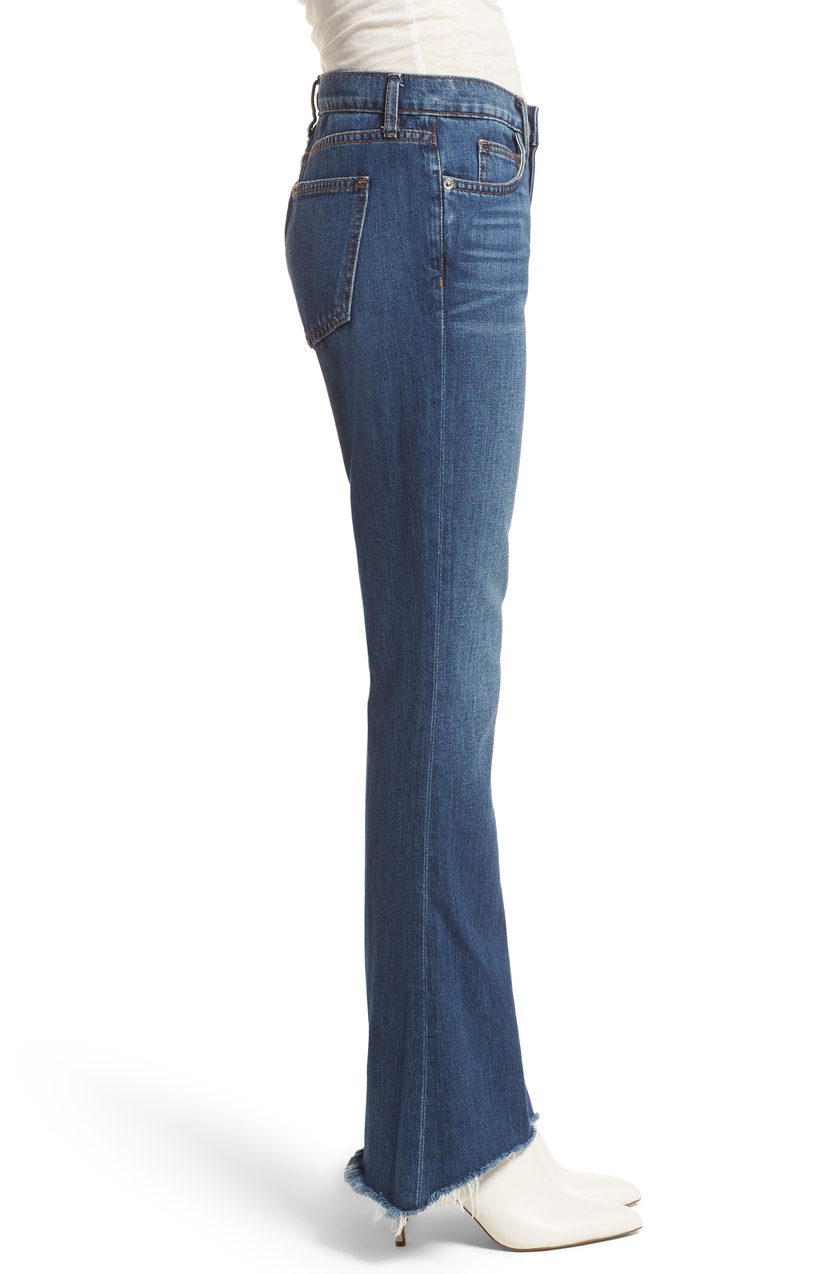 The Flip Flop Flare Jeans,                             Alternate thumbnail 3, color,                             Westry