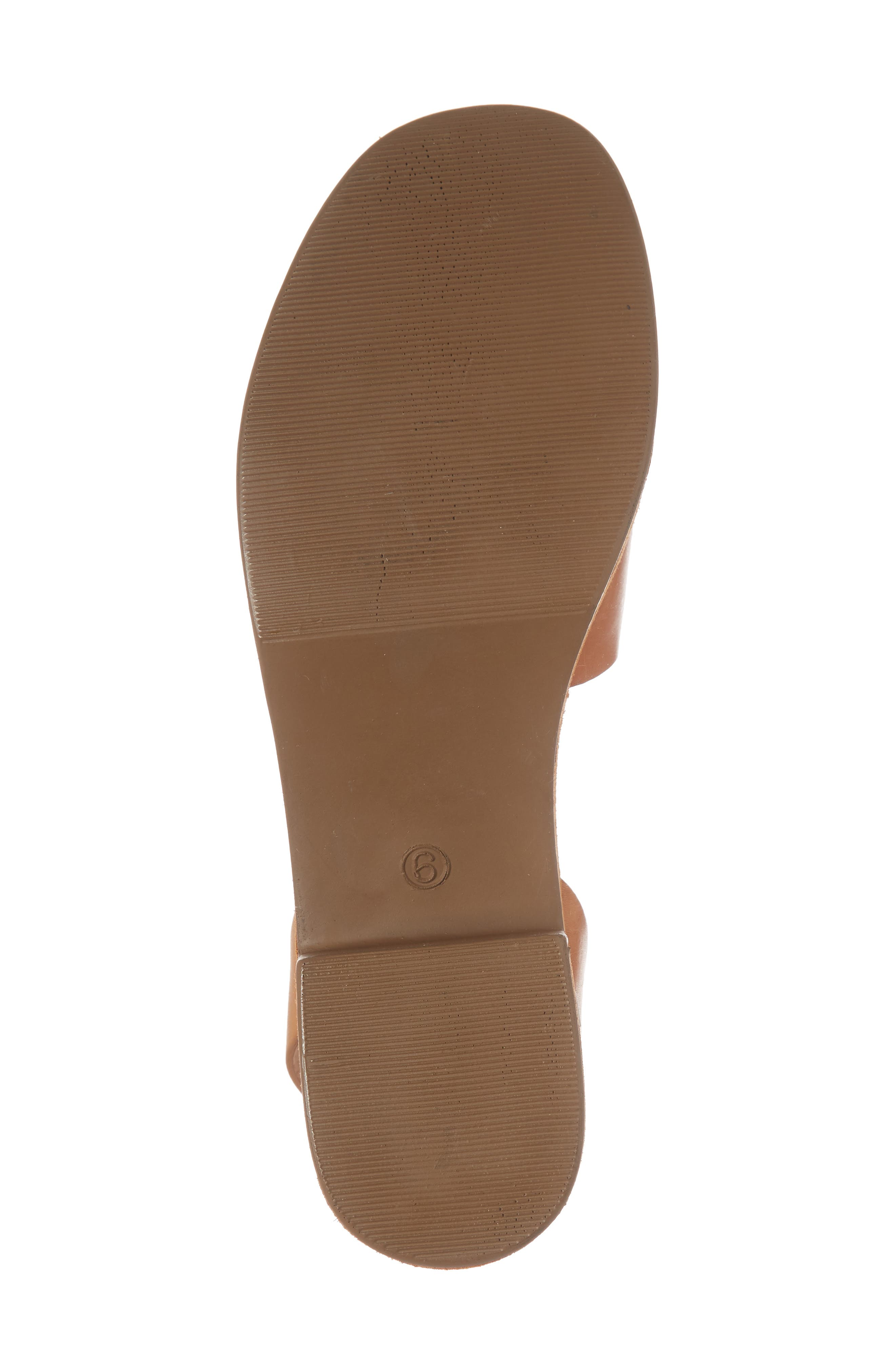 Calming Influence Platform Sandal,                             Alternate thumbnail 6, color,                             Tan Leather