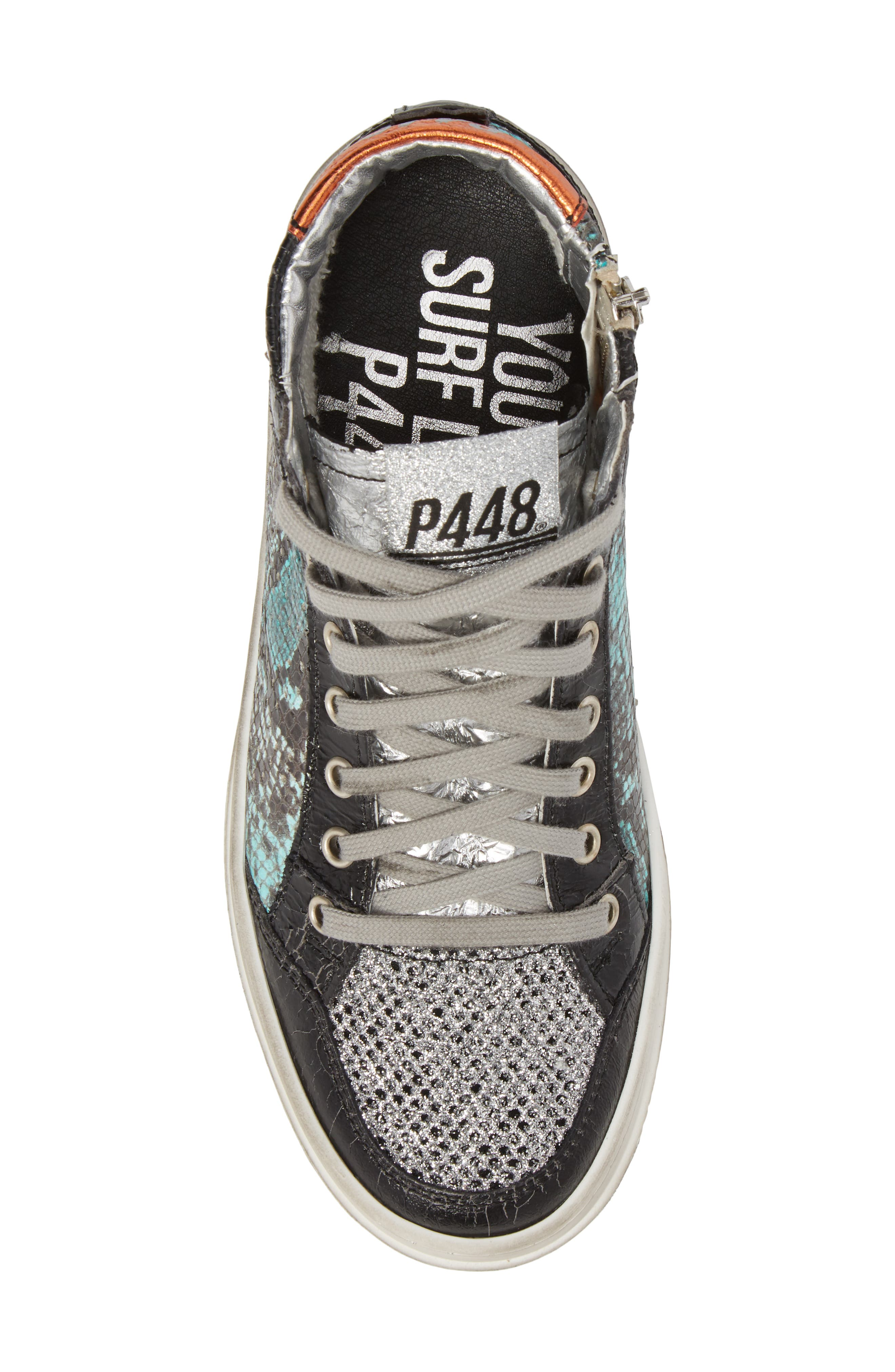 Love High Top Sneaker,                             Alternate thumbnail 5, color,                             Clepton