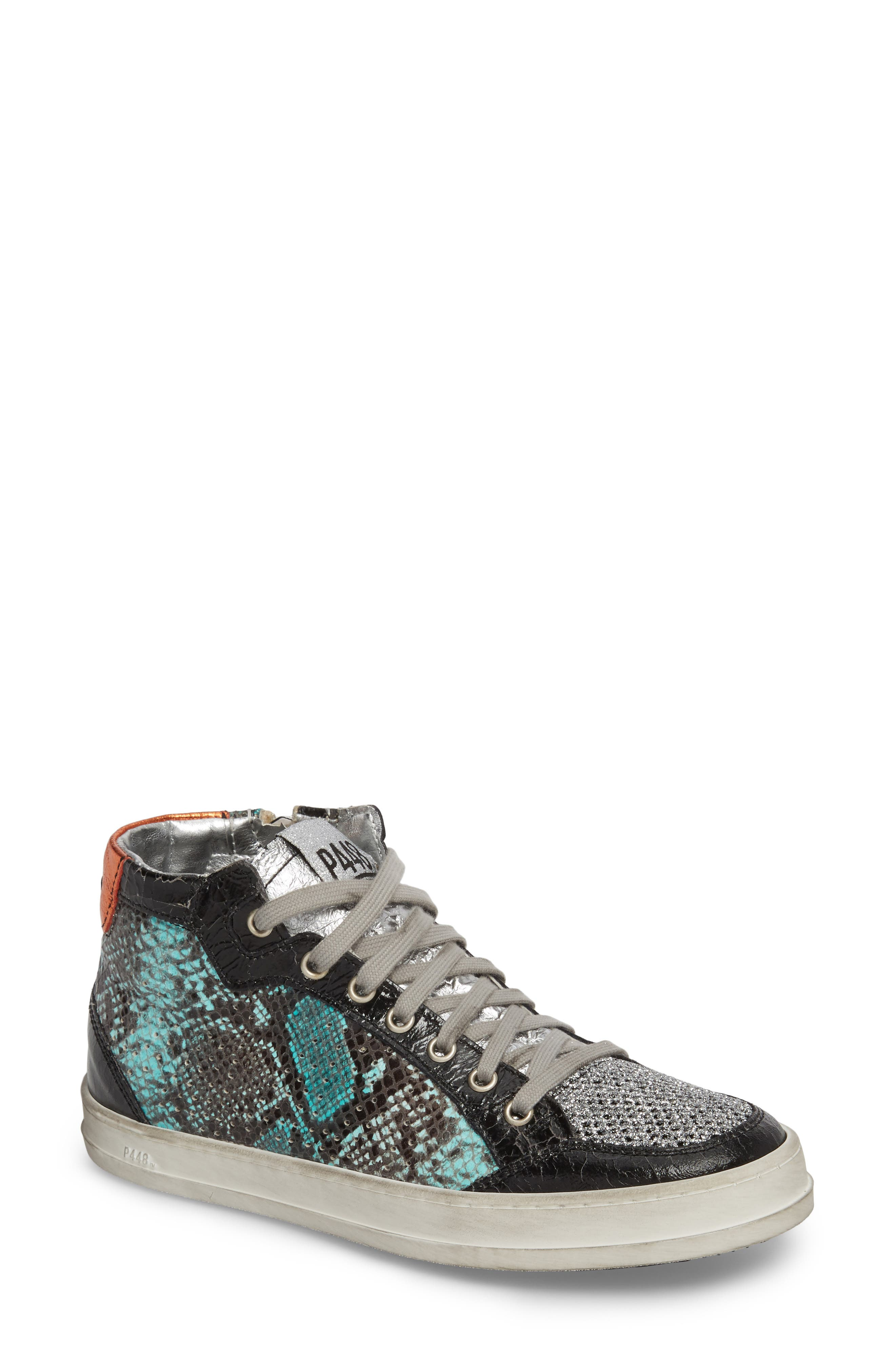 Love High Top Sneaker,                         Main,                         color, Clepton