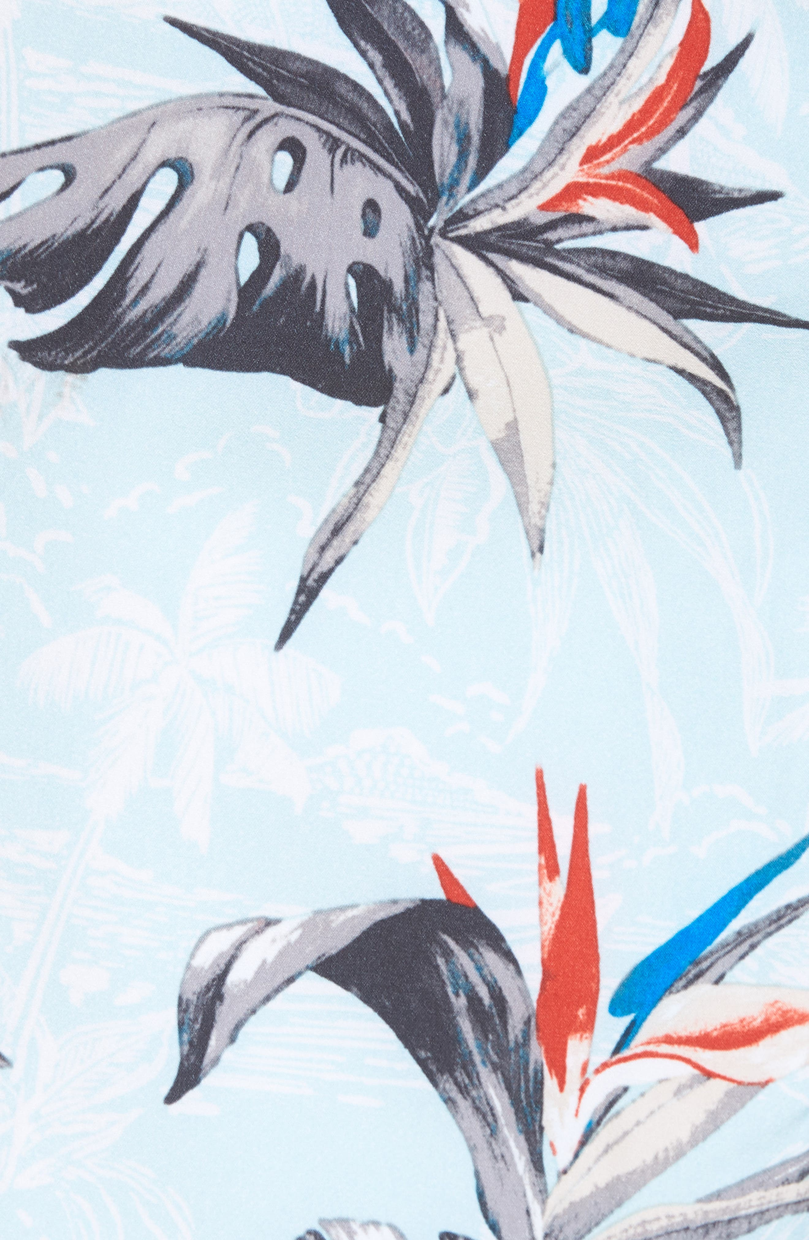 Hyperfreak Islander Board Shorts,                             Alternate thumbnail 5, color,                             Ice Blue