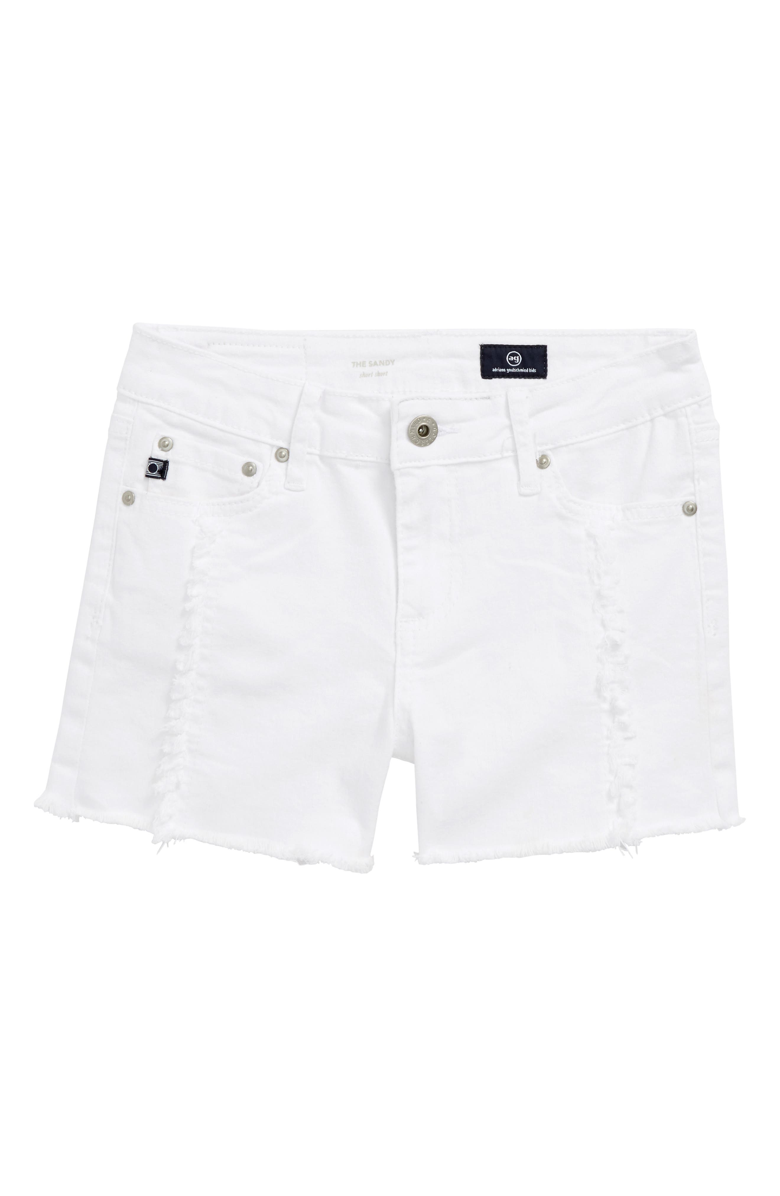 AG The Sandy Shorts,                             Main thumbnail 1, color,                             White