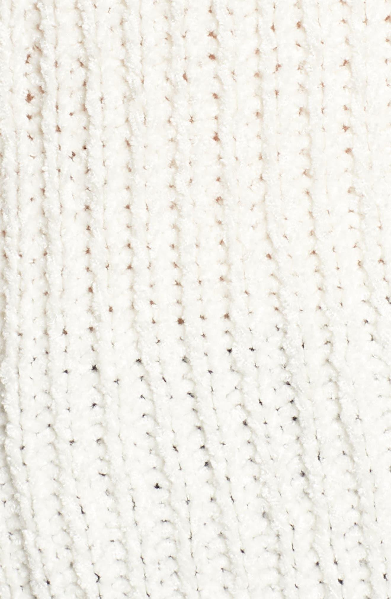 Camdon Sleeveless Sweater,                             Alternate thumbnail 6, color,                             Ivory