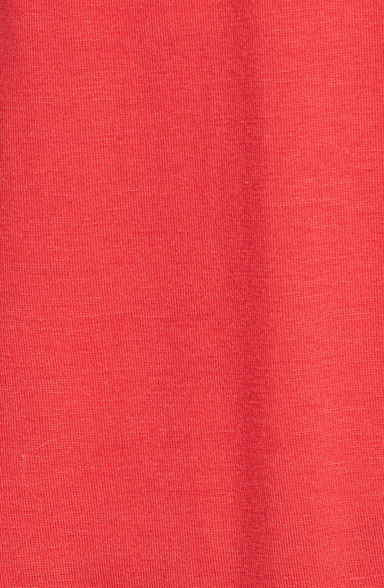 Drape Knit Tank,                             Alternate thumbnail 6, color,                             Deep Coral