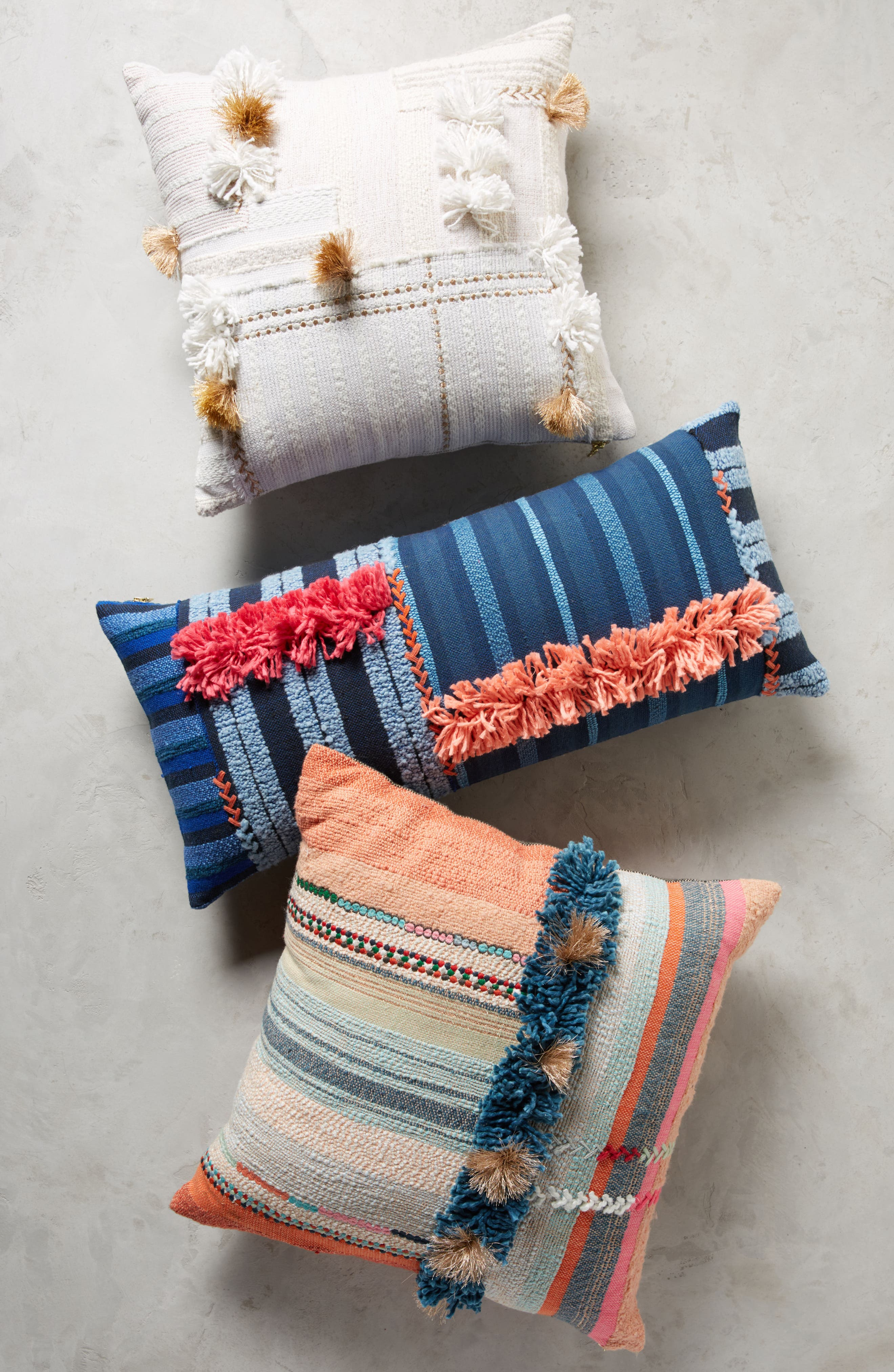 Yoursa Accent Pillow,                             Alternate thumbnail 5, color,                             Blue
