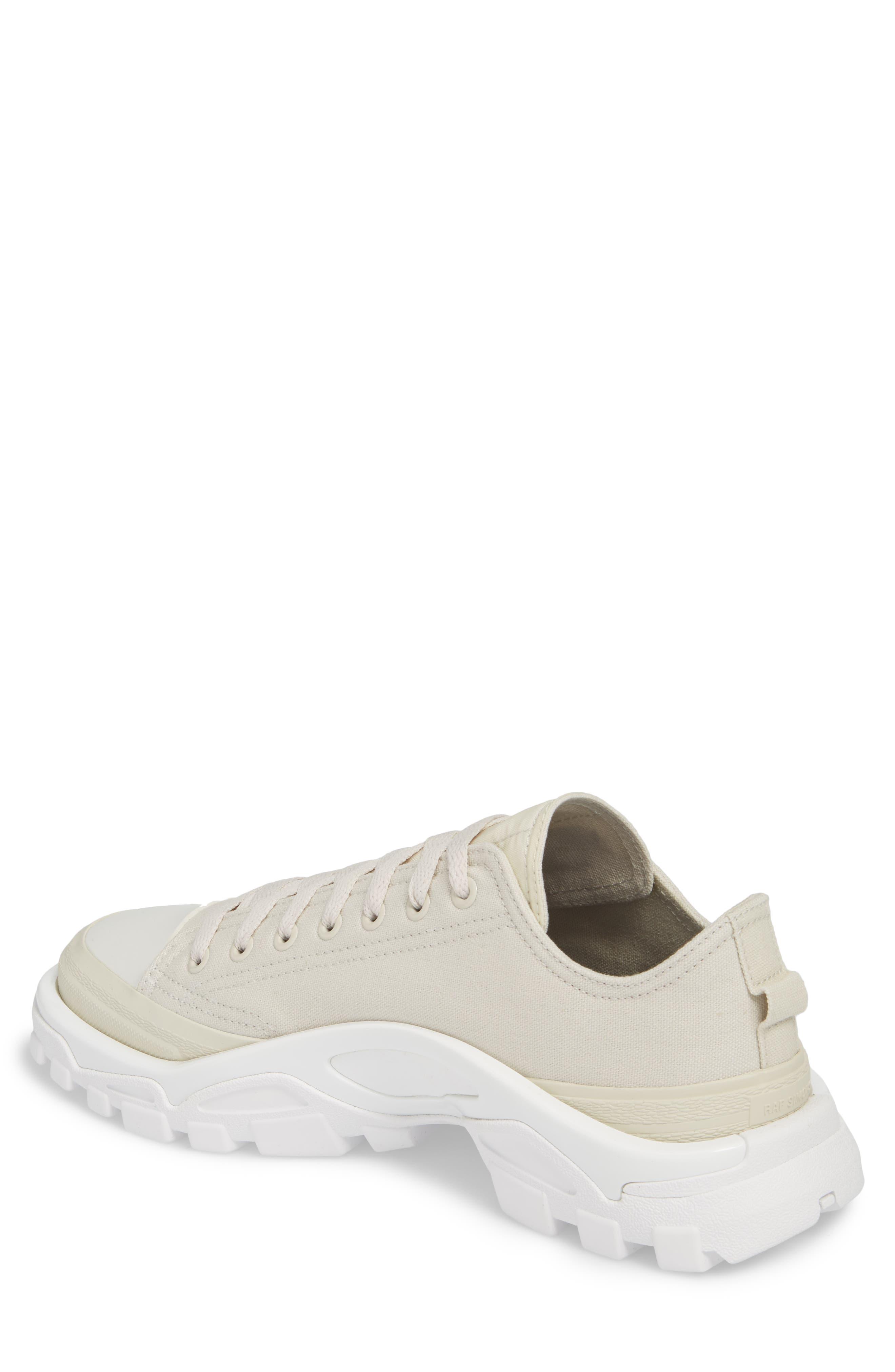 Detroit Low Top Sneaker,                             Alternate thumbnail 2, color,                             Beige/ White