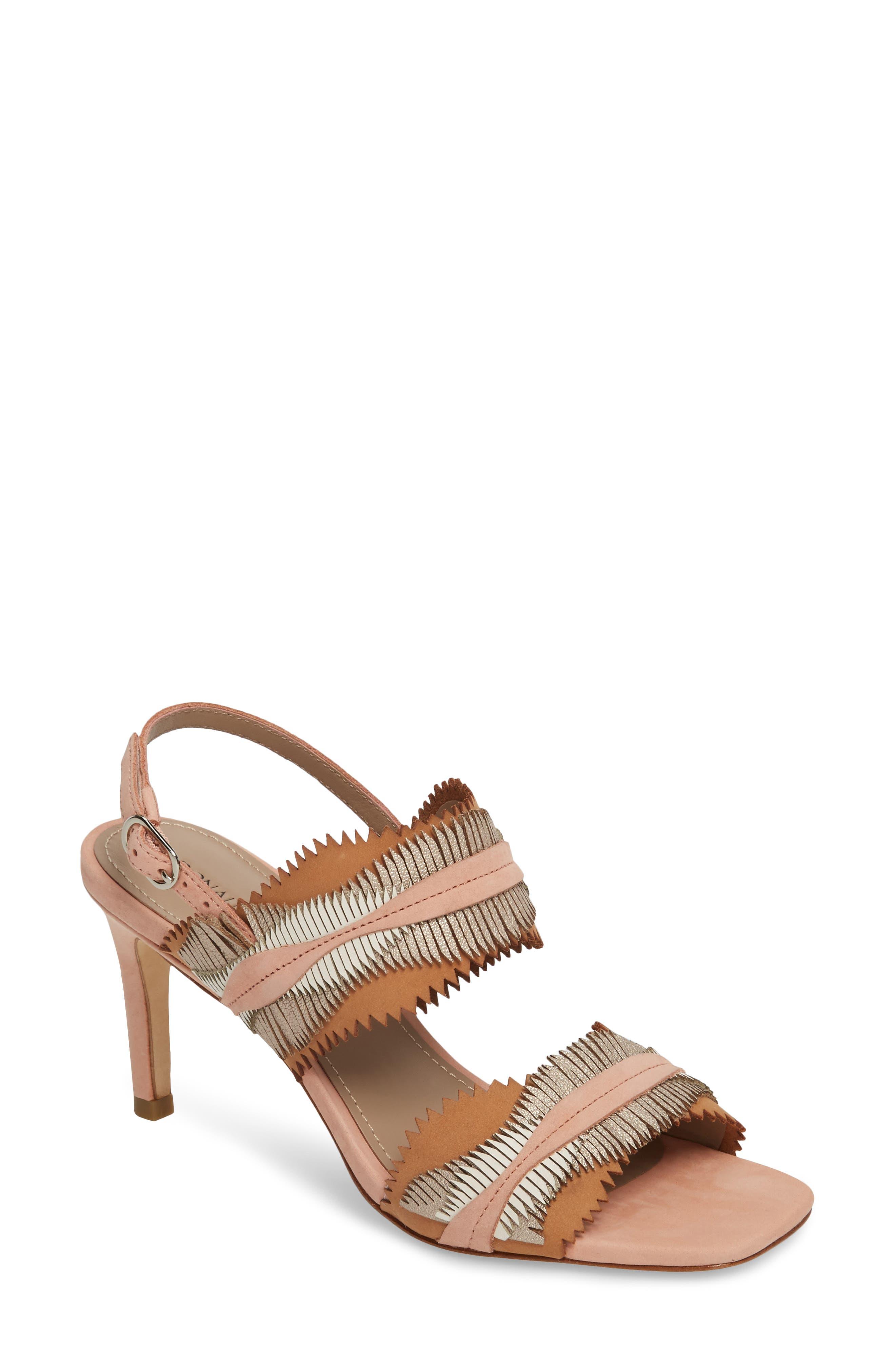 Donald Pliner Kit Fringe Sandal (Women)