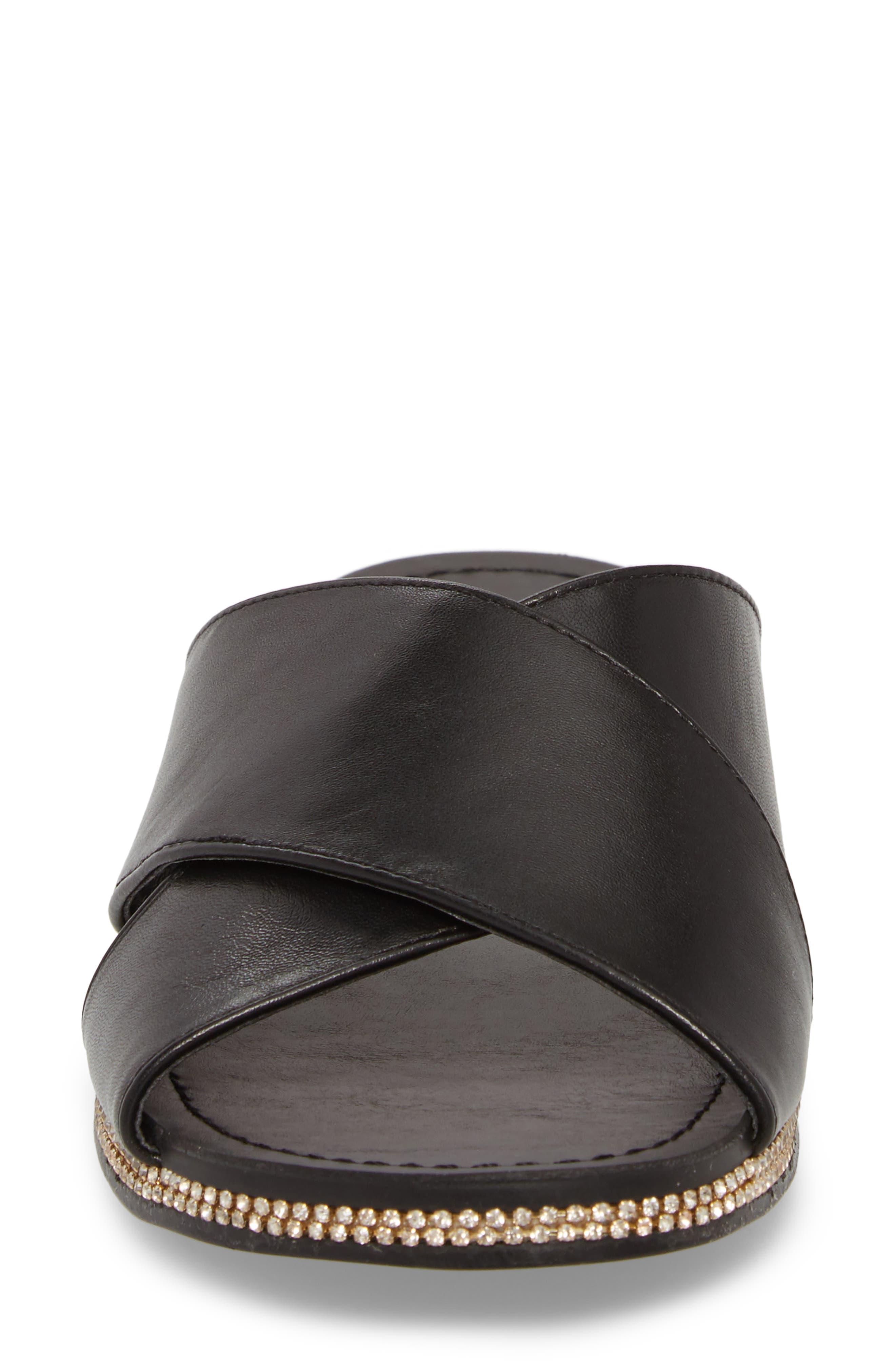Brinella Sandal,                             Alternate thumbnail 4, color,                             Black
