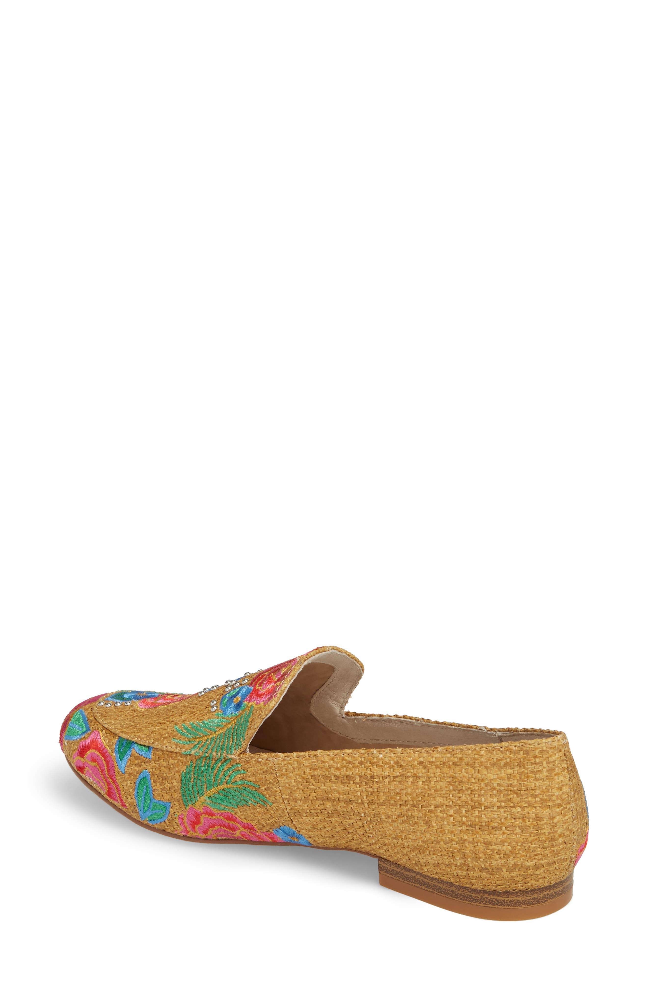 Westley Slip-On,                             Alternate thumbnail 2, color,                             Natural Raffia Fabric