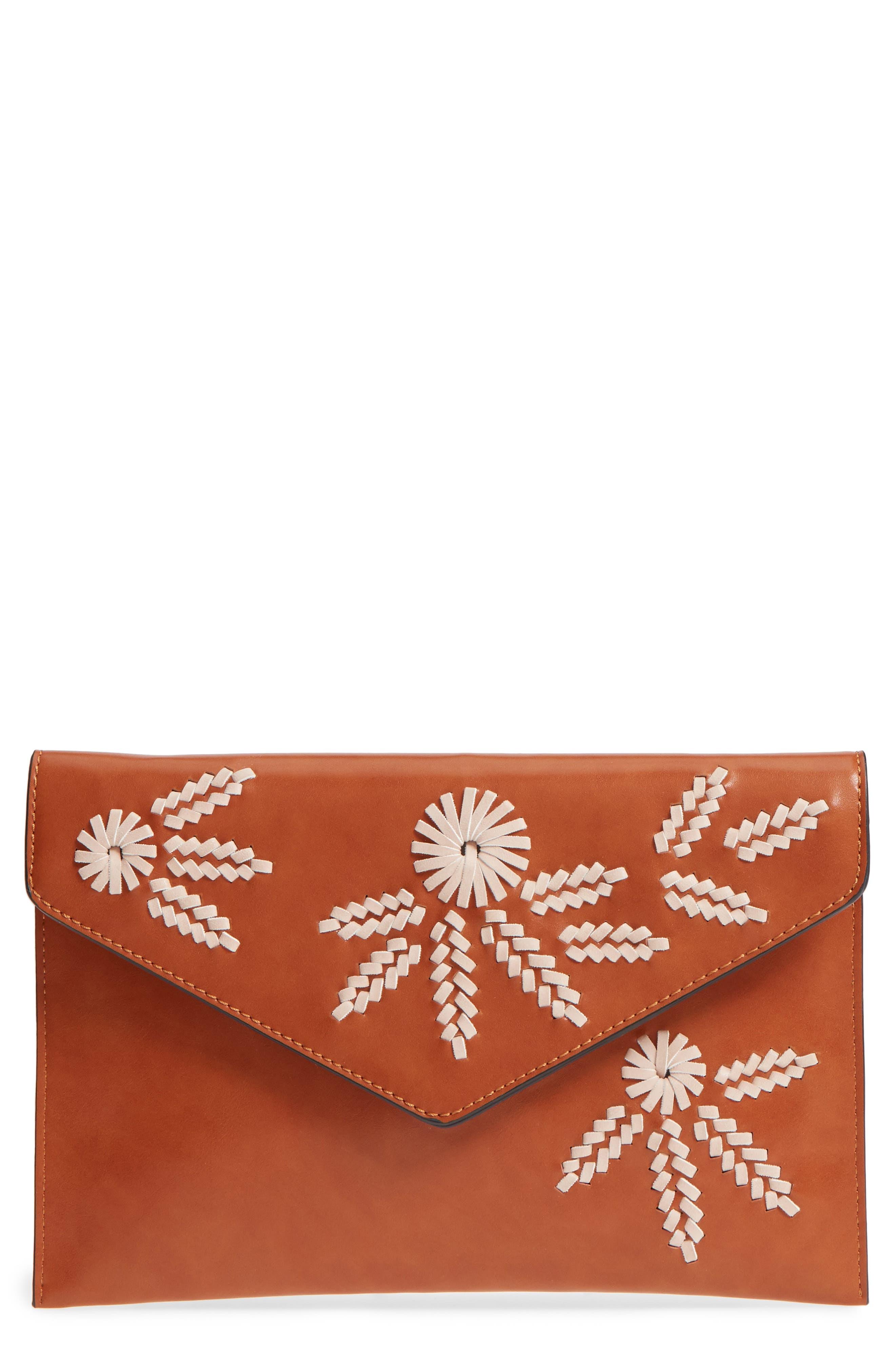 Malibu Skye Embellished Envelope Clutch