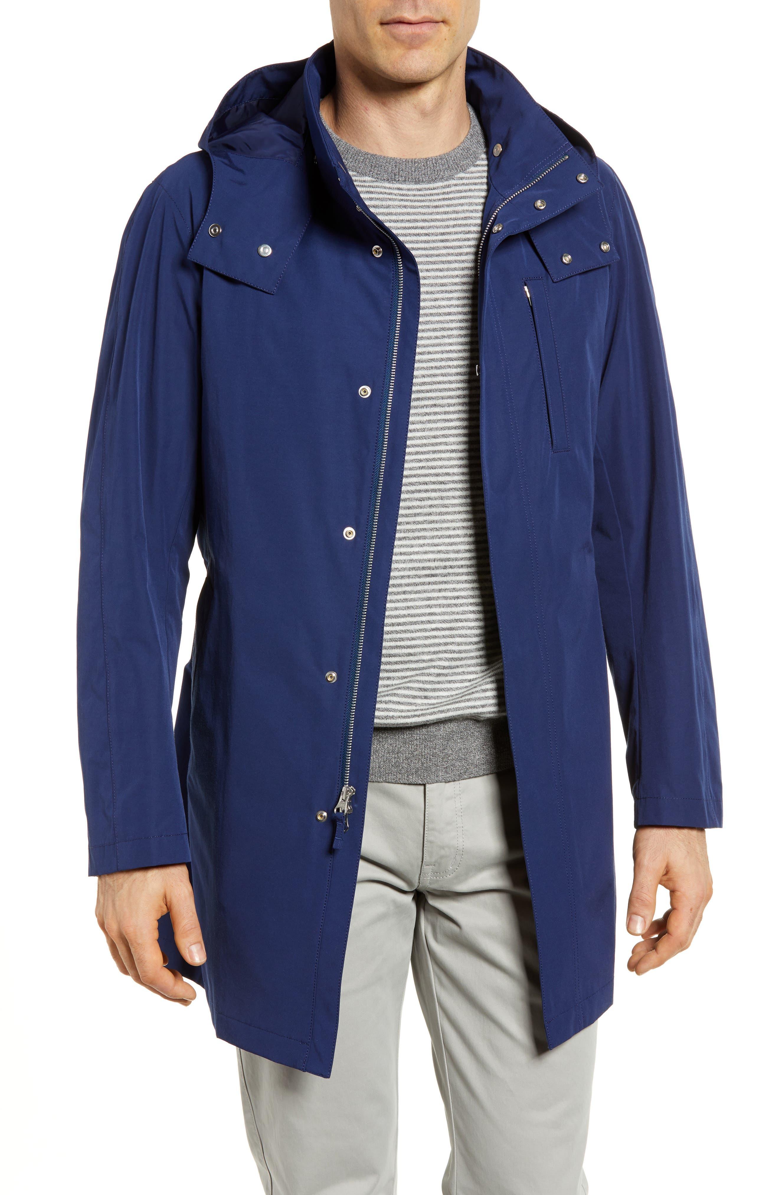Getaway Raincoat,                         Main,                         color, Royal Blue