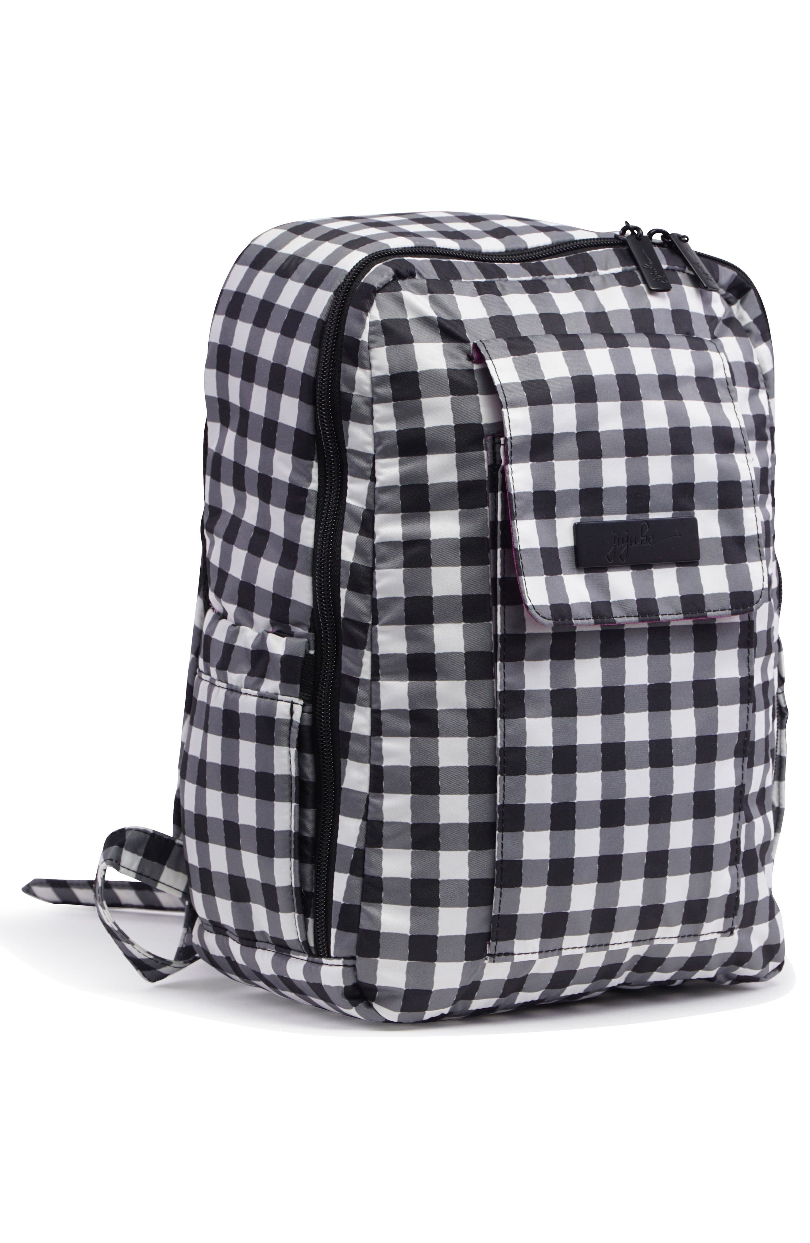 'Mini Be - Onyx Collection' Backpack,                             Alternate thumbnail 4, color,                             Gingham Style