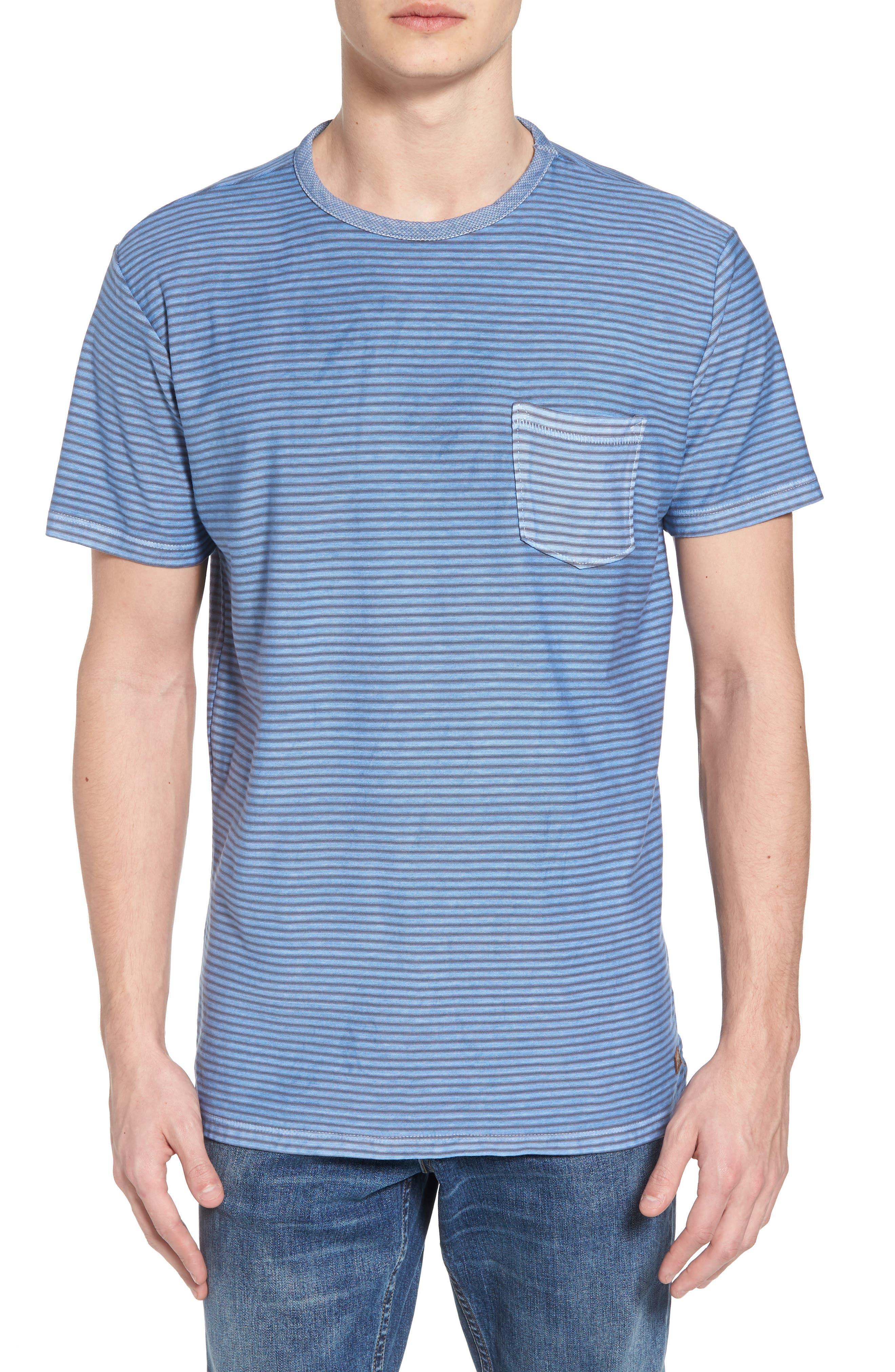 Stringer T-Shirt,                         Main,                         color, Powder Blue