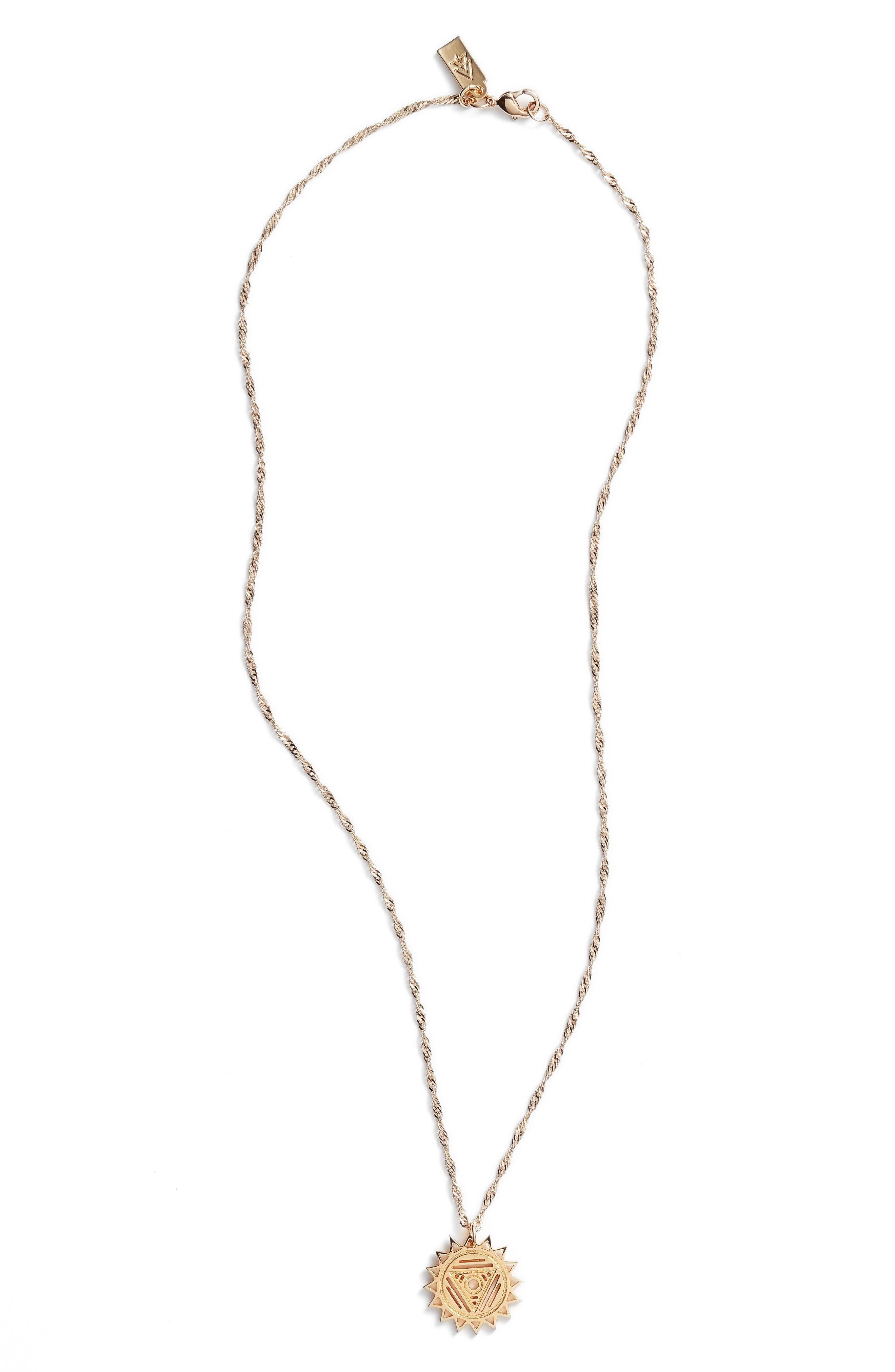 CAM Chakra Pendant Necklace