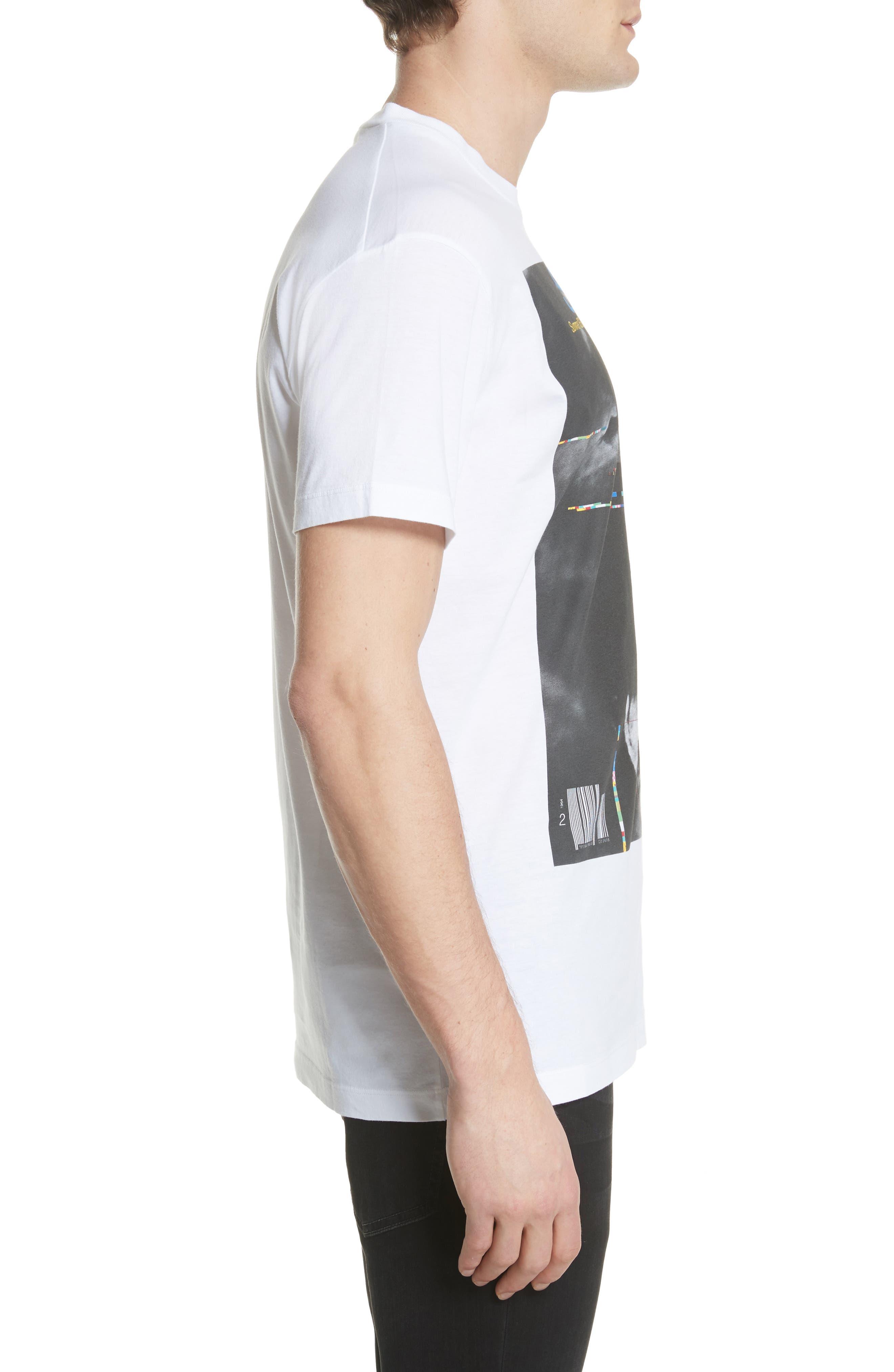 Savage Graphic T-Shirt,                             Alternate thumbnail 3, color,                             White