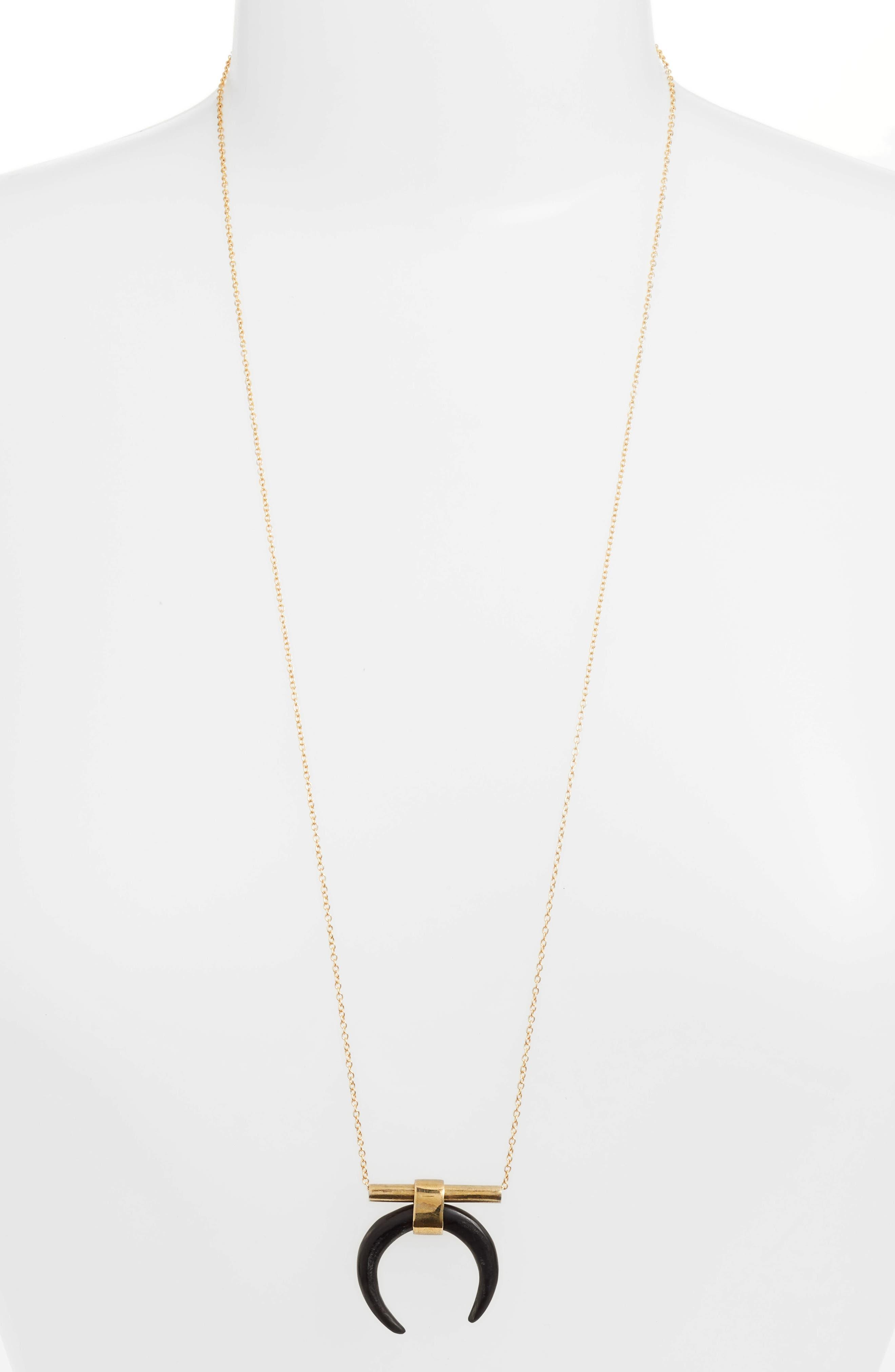 Soko Ephra Horseshoe Pendant Necklace