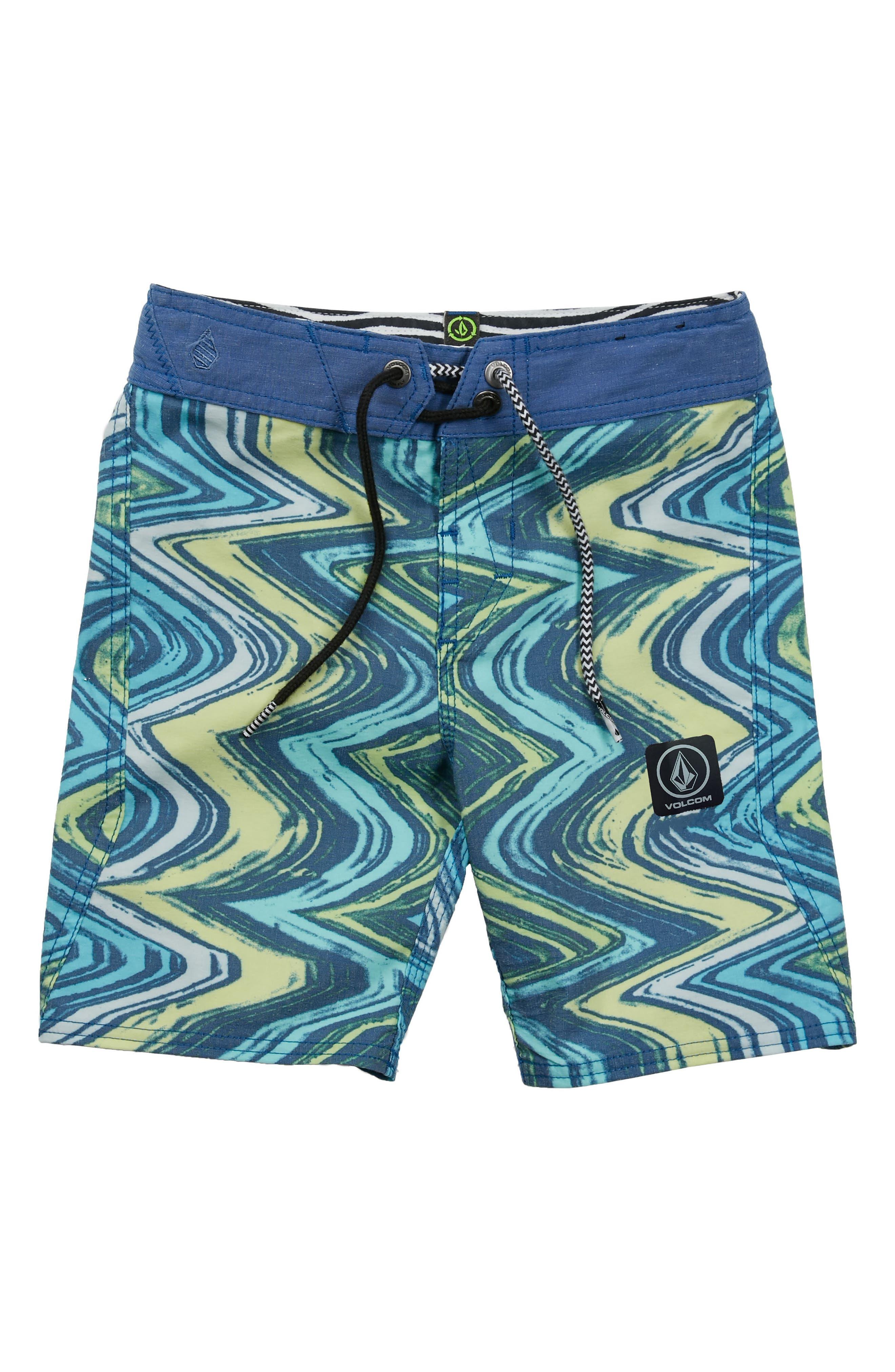 Lo-Fi Board Shorts,                         Main,                         color, Camper Blue