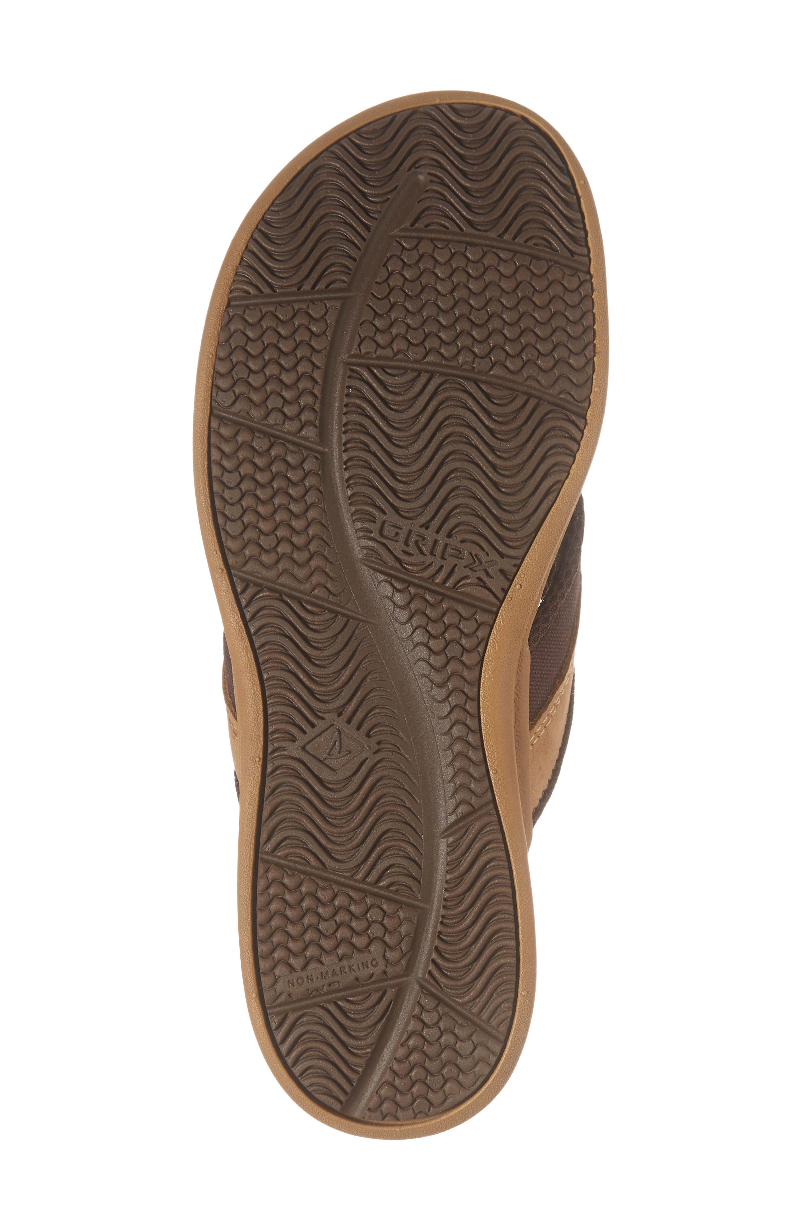 Gamefish Thong Sandal,                             Alternate thumbnail 6, color,                             Dark Tan