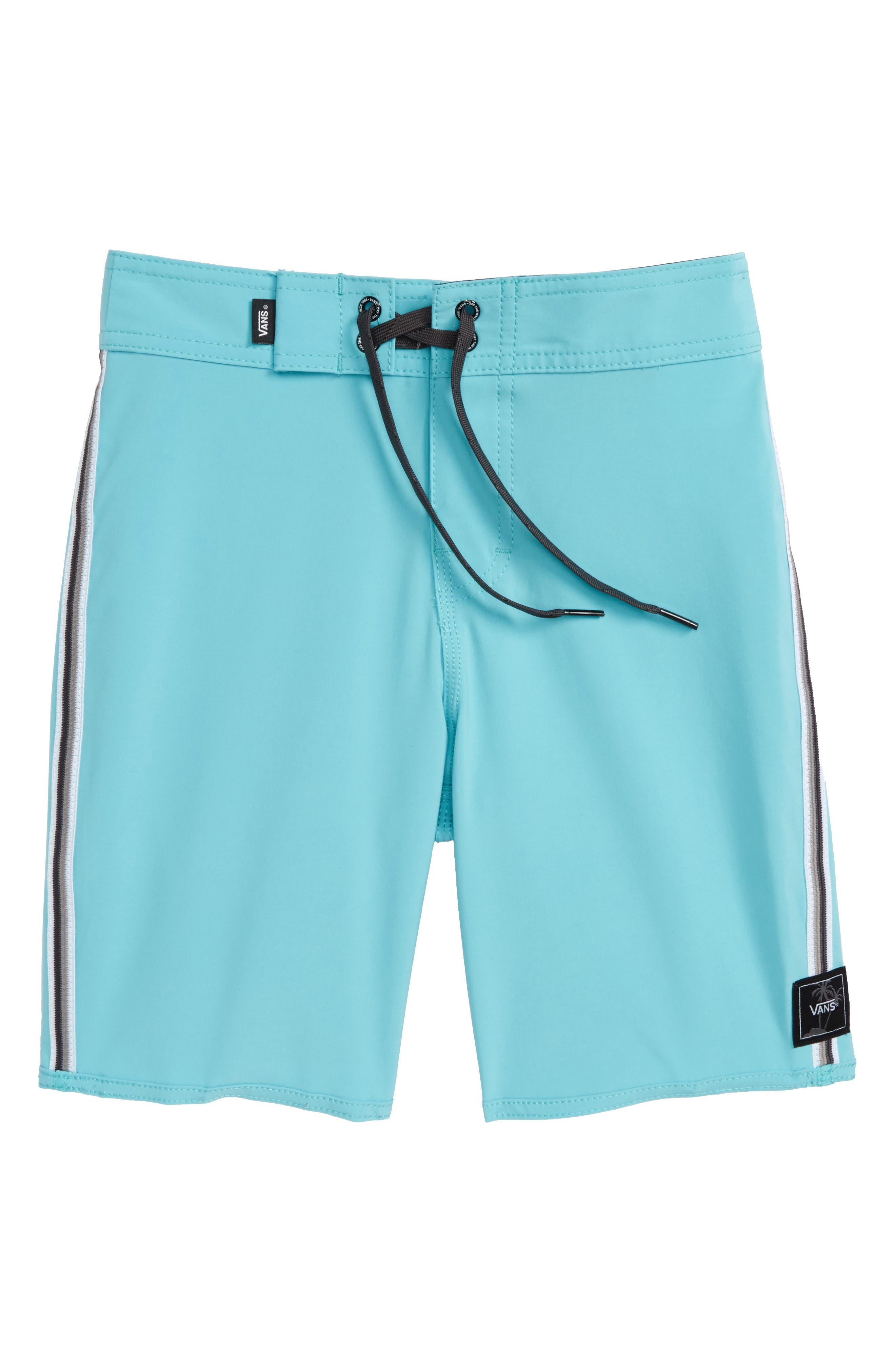Sidestripe Board Shorts,                         Main,                         color, Aquarelle